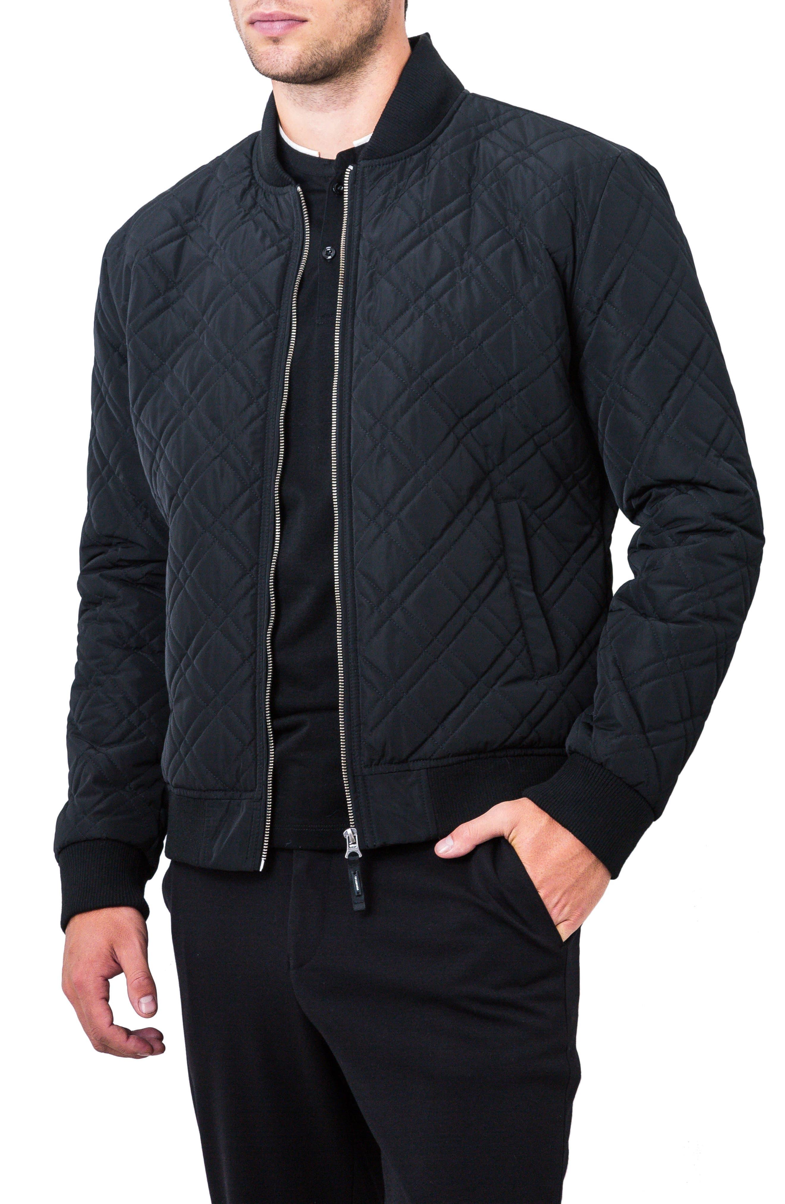 Arca Quilt Jacket,                             Alternate thumbnail 3, color,                             001