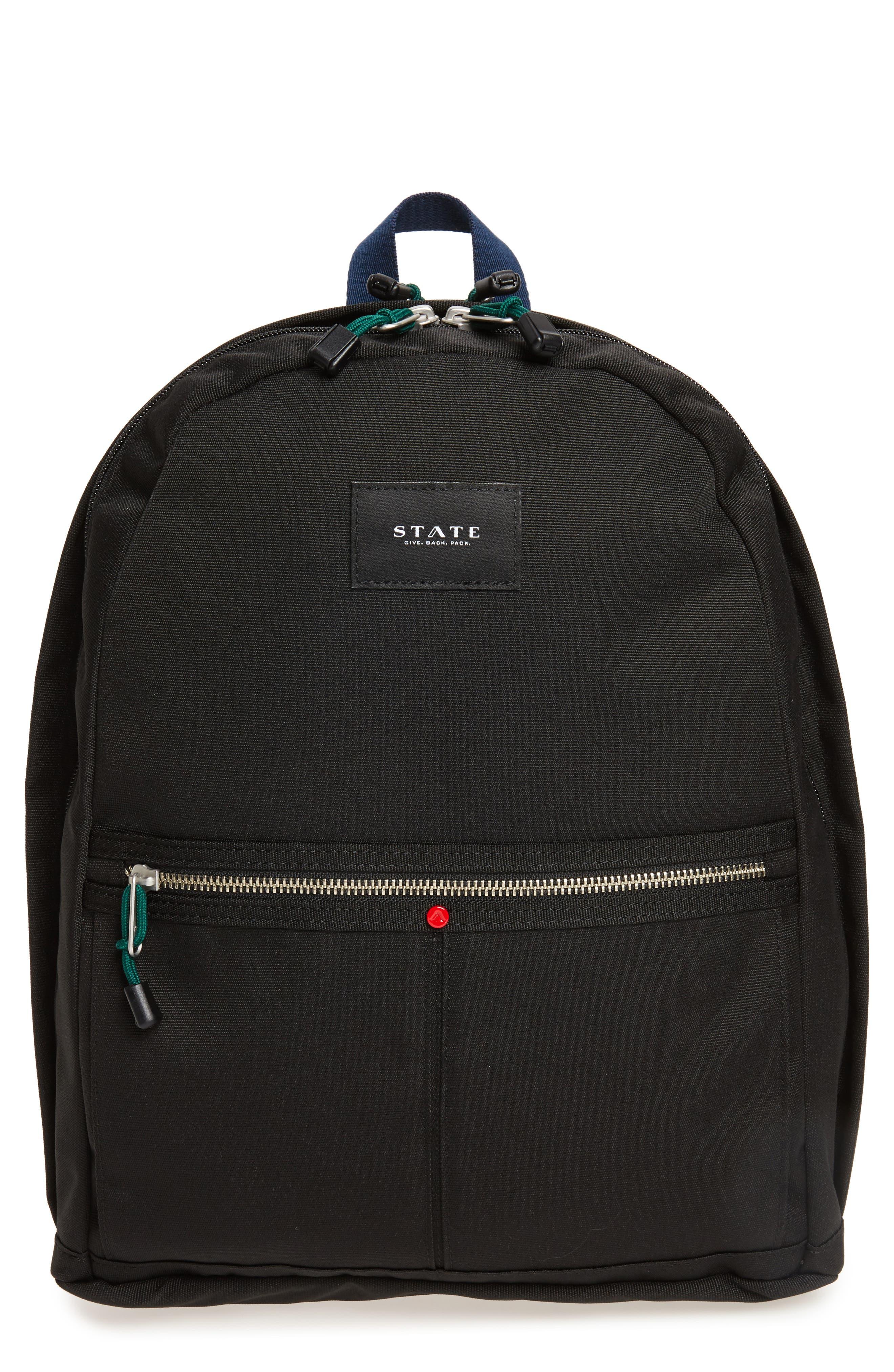 STATE BAGS,                             Kent Backpack,                             Main thumbnail 1, color,                             BLACK