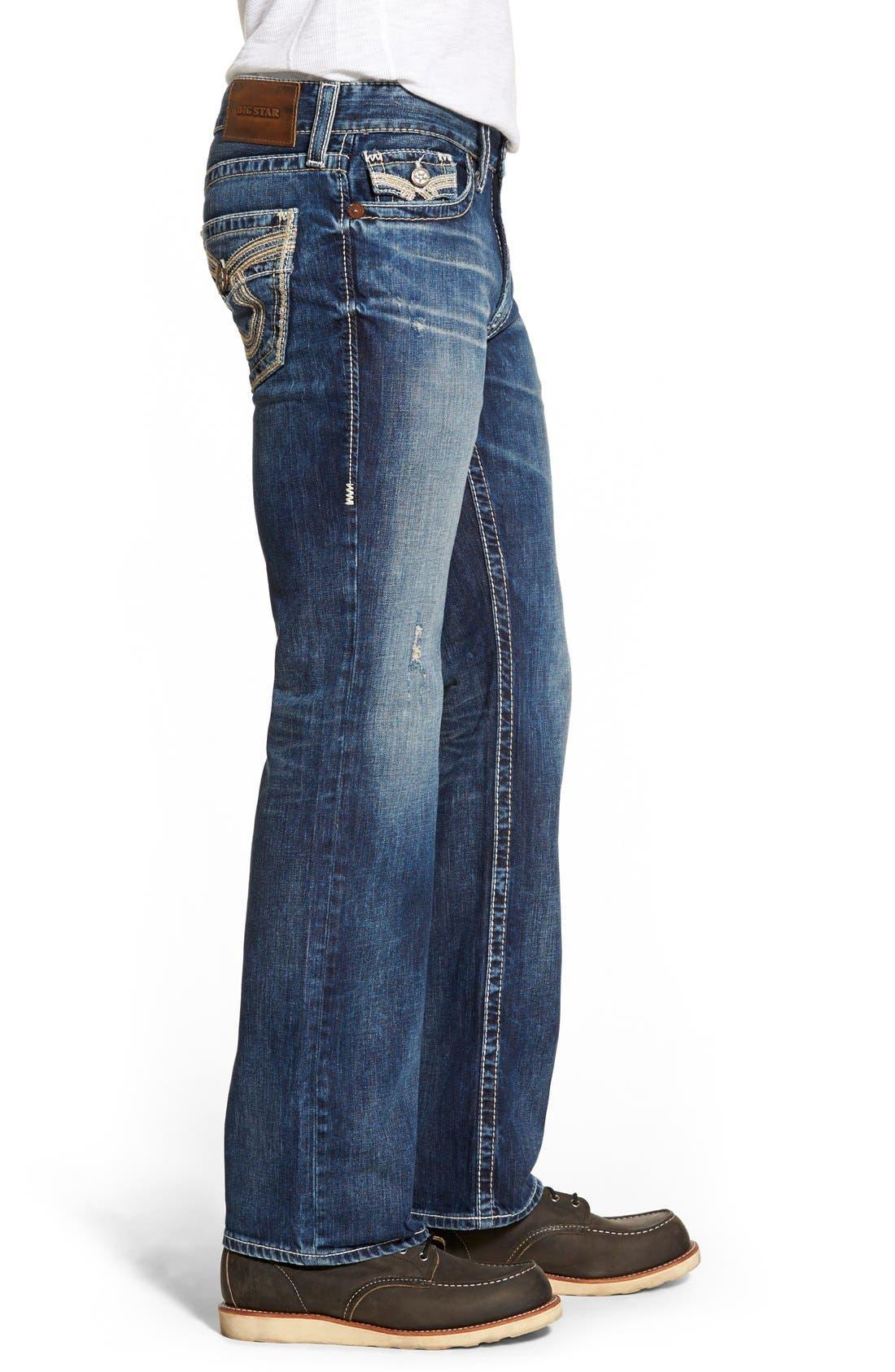 'Union' Straight Leg Jeans,                             Alternate thumbnail 2, color,                             423
