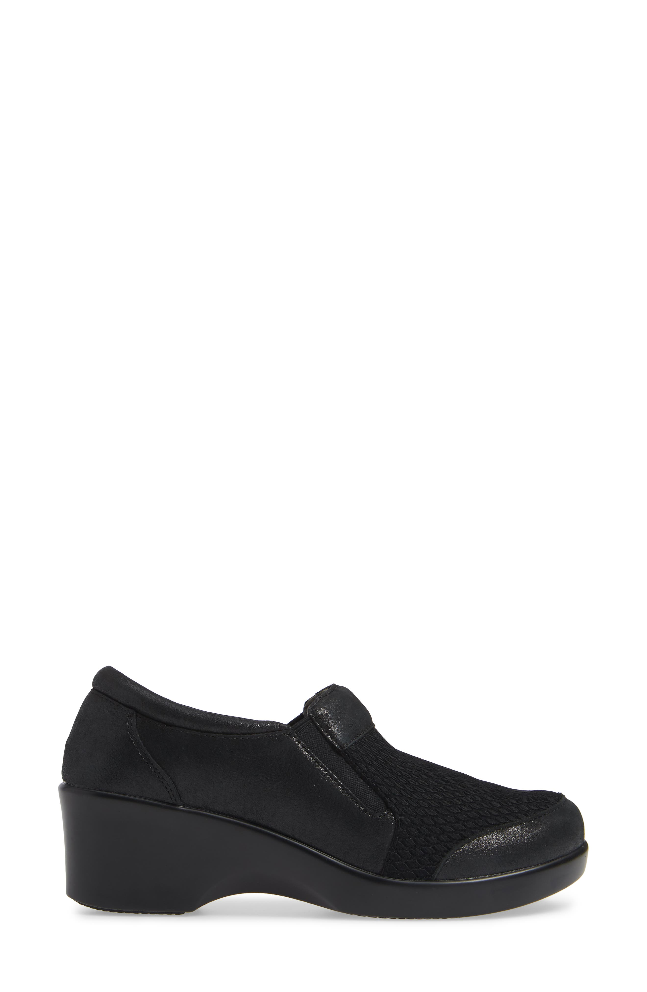 Eryn Pump,                             Alternate thumbnail 3, color,                             ANISE BABY TUMBLE LEATHER