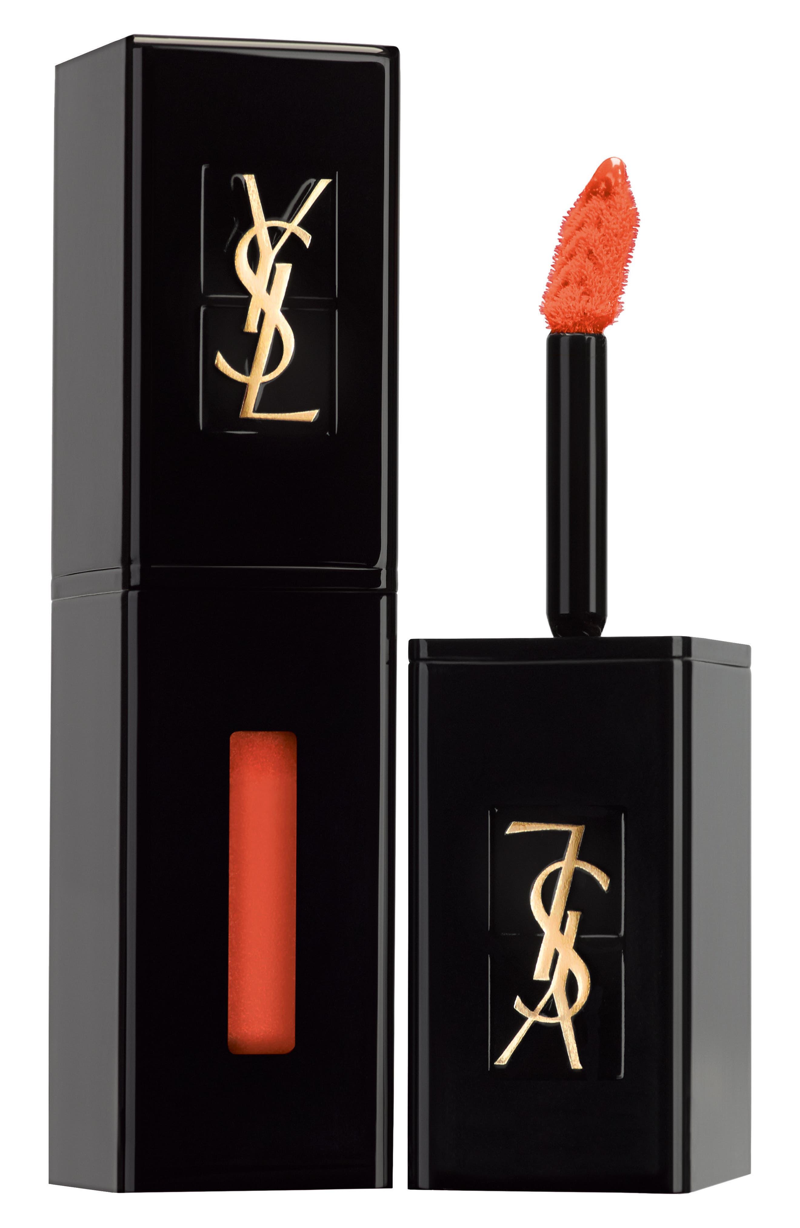 Yves Saint Laurent Vinyl Cream Lip Stain - 414 Rave Orange