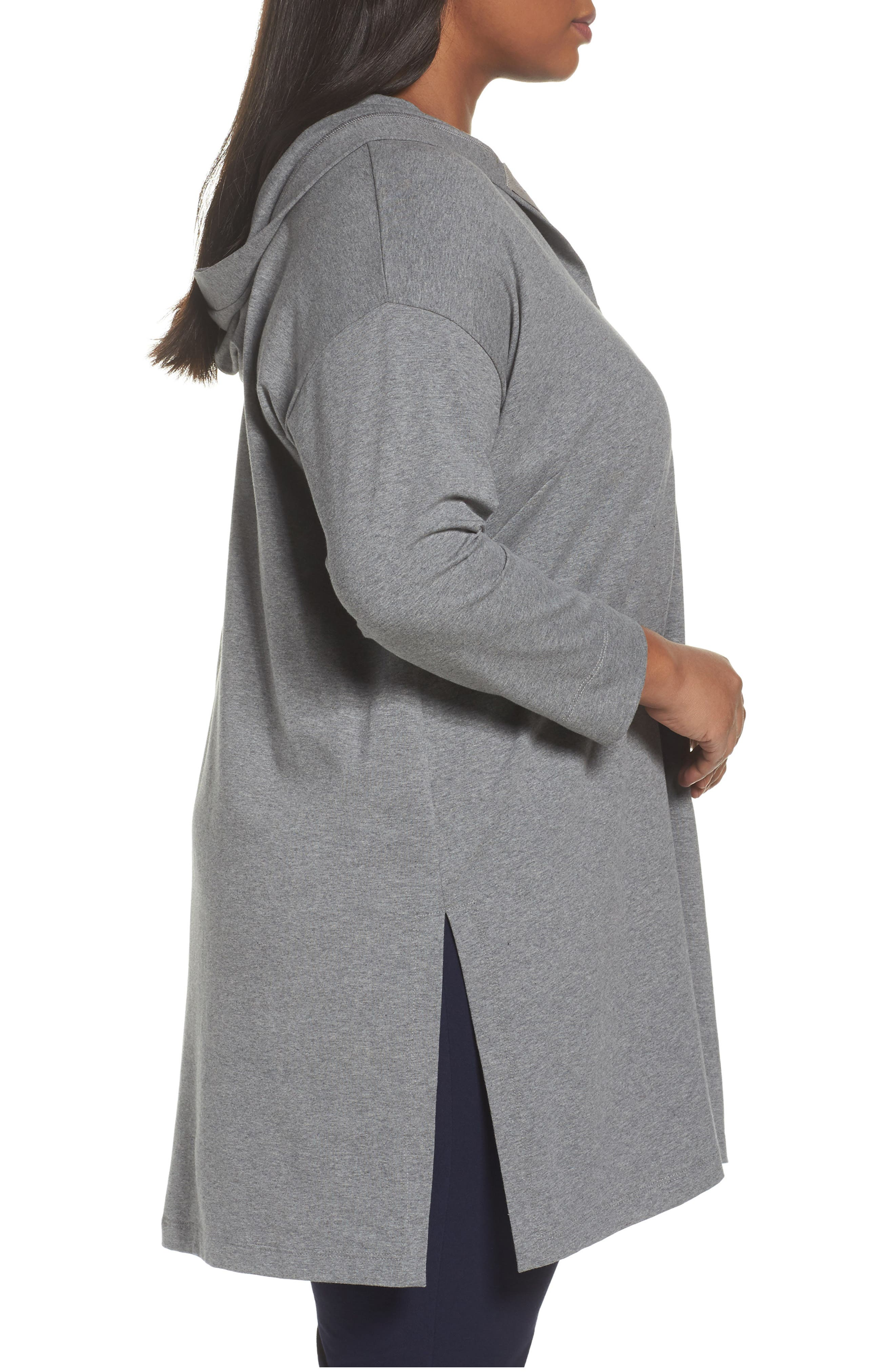 Hooded Tunic,                             Alternate thumbnail 3, color,