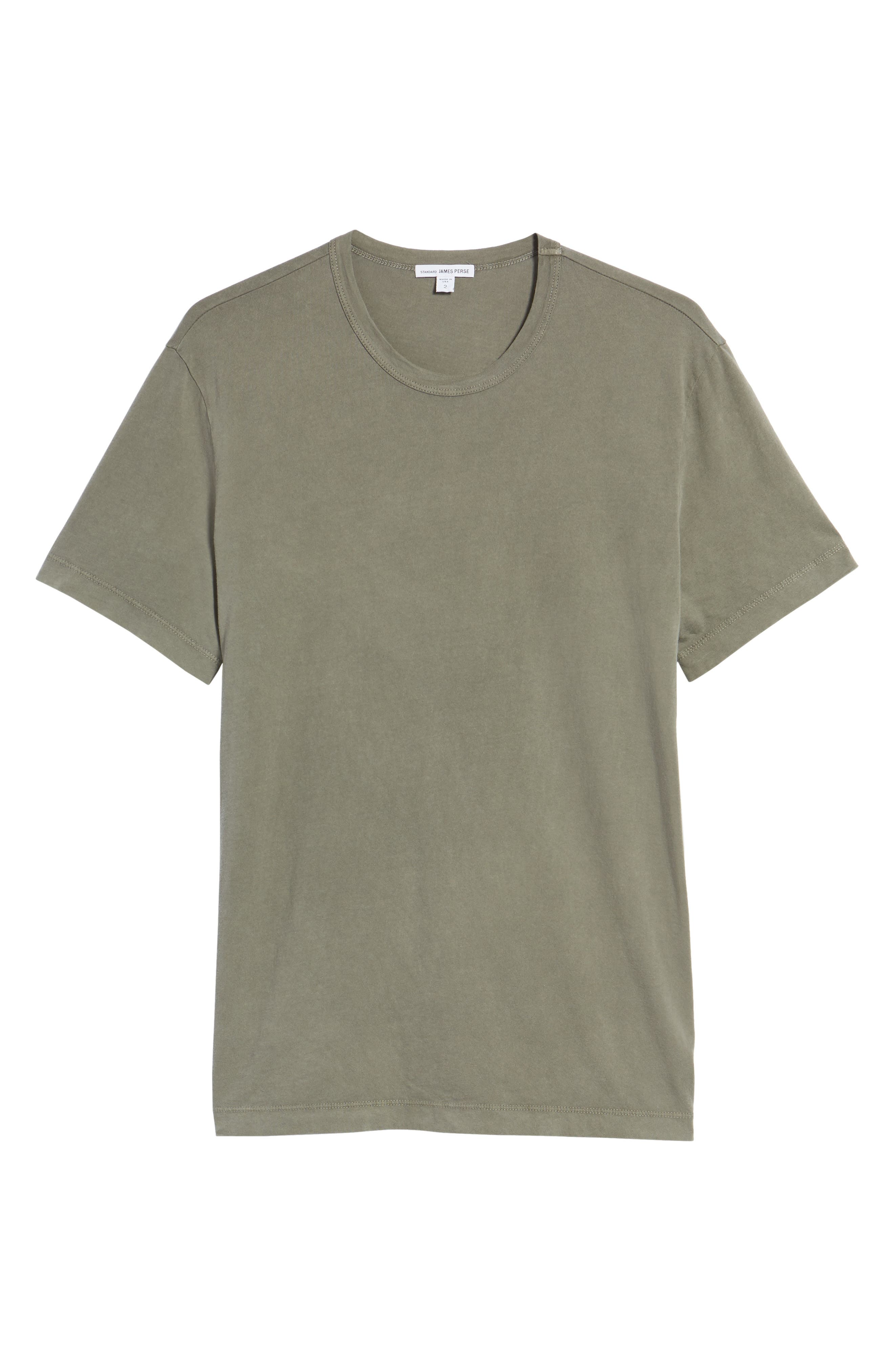 Crewneck Jersey T-Shirt,                             Alternate thumbnail 463, color,
