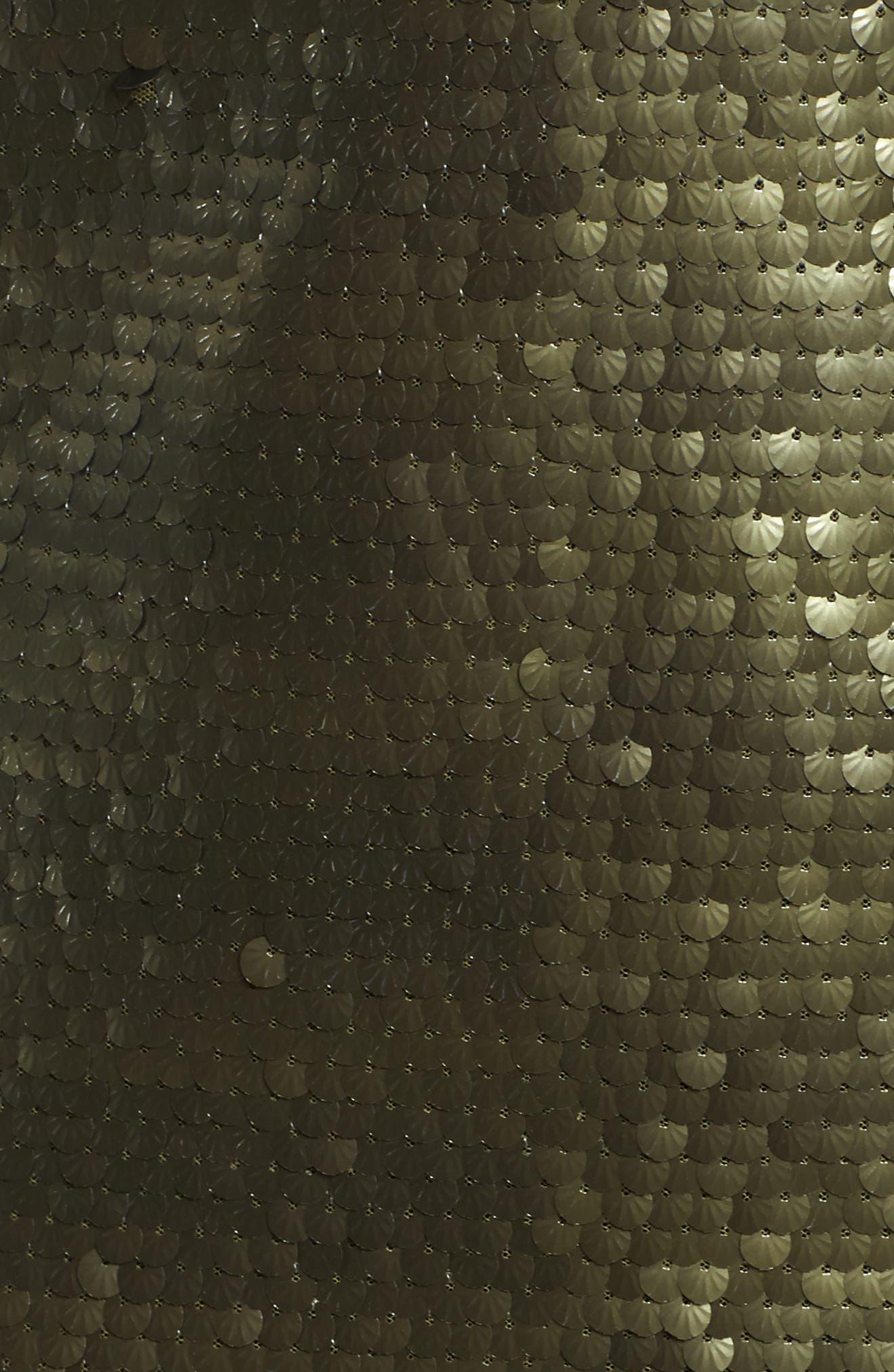Sequin Mini Dress,                             Alternate thumbnail 5, color,                             300