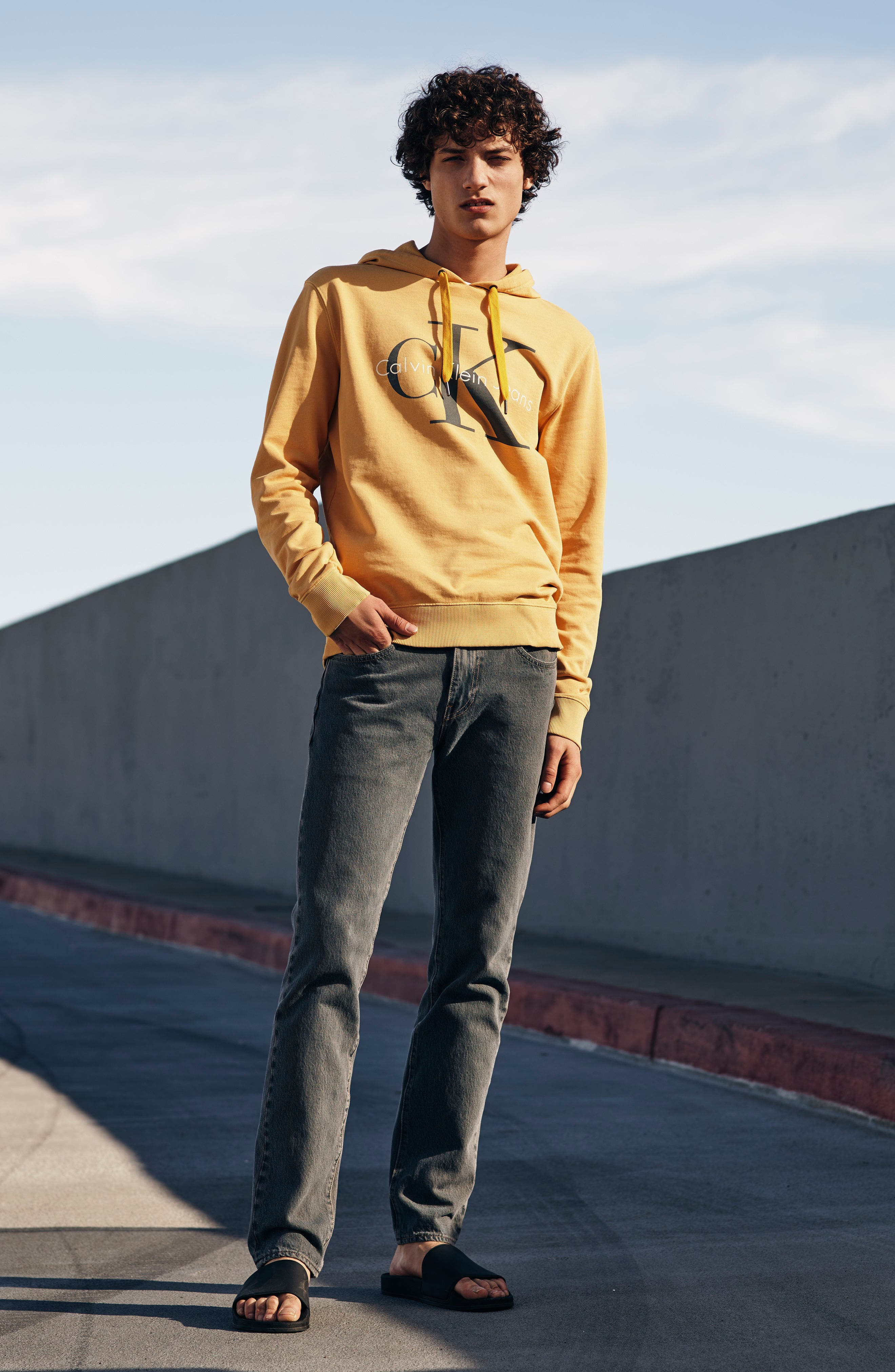 Pop Color Hoodie,                             Alternate thumbnail 7, color,                             SPECTRA YELLOW