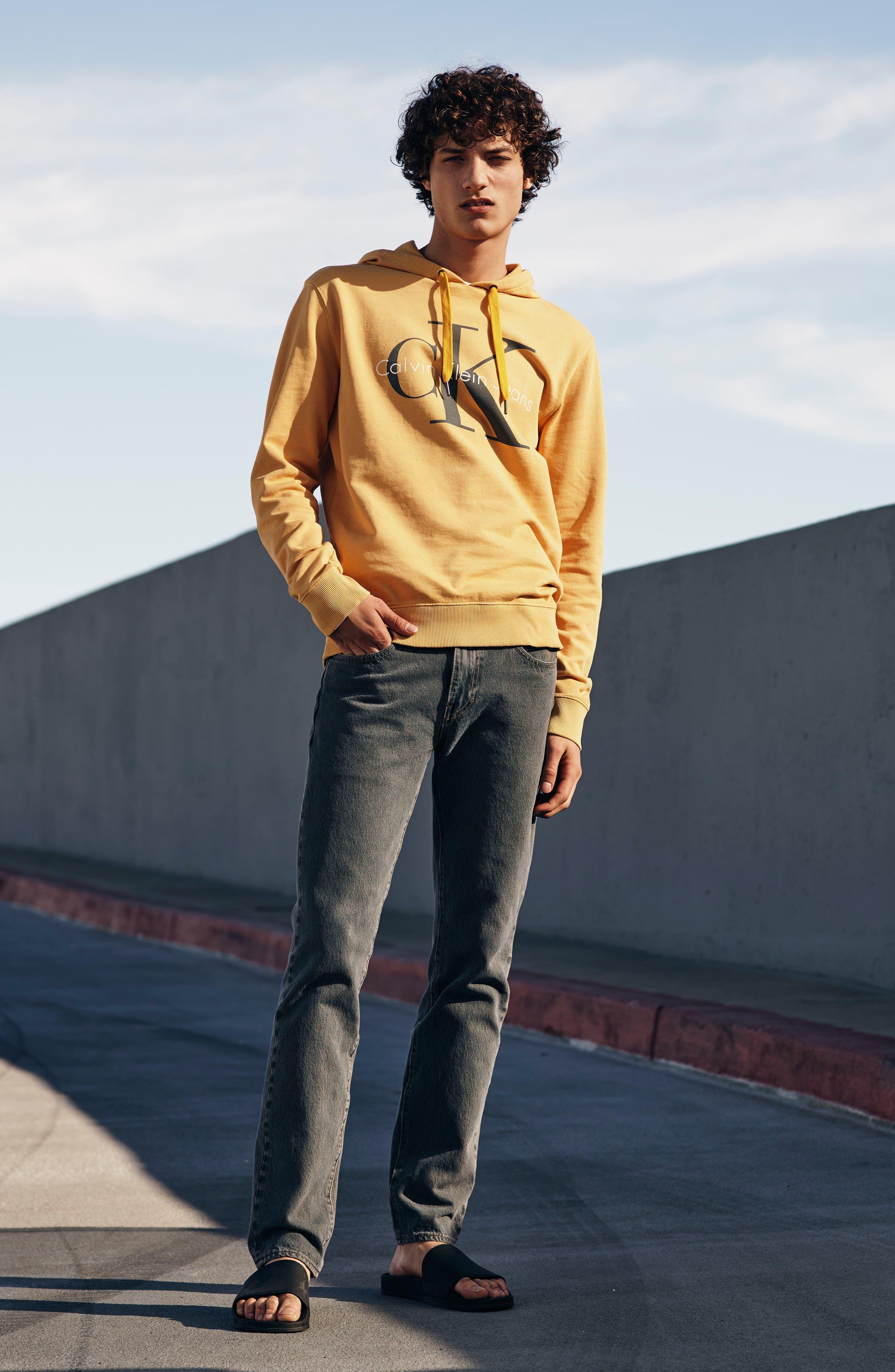 Everett Slim Straight Leg Jeans,                             Alternate thumbnail 11, color,                             HIGHWAY