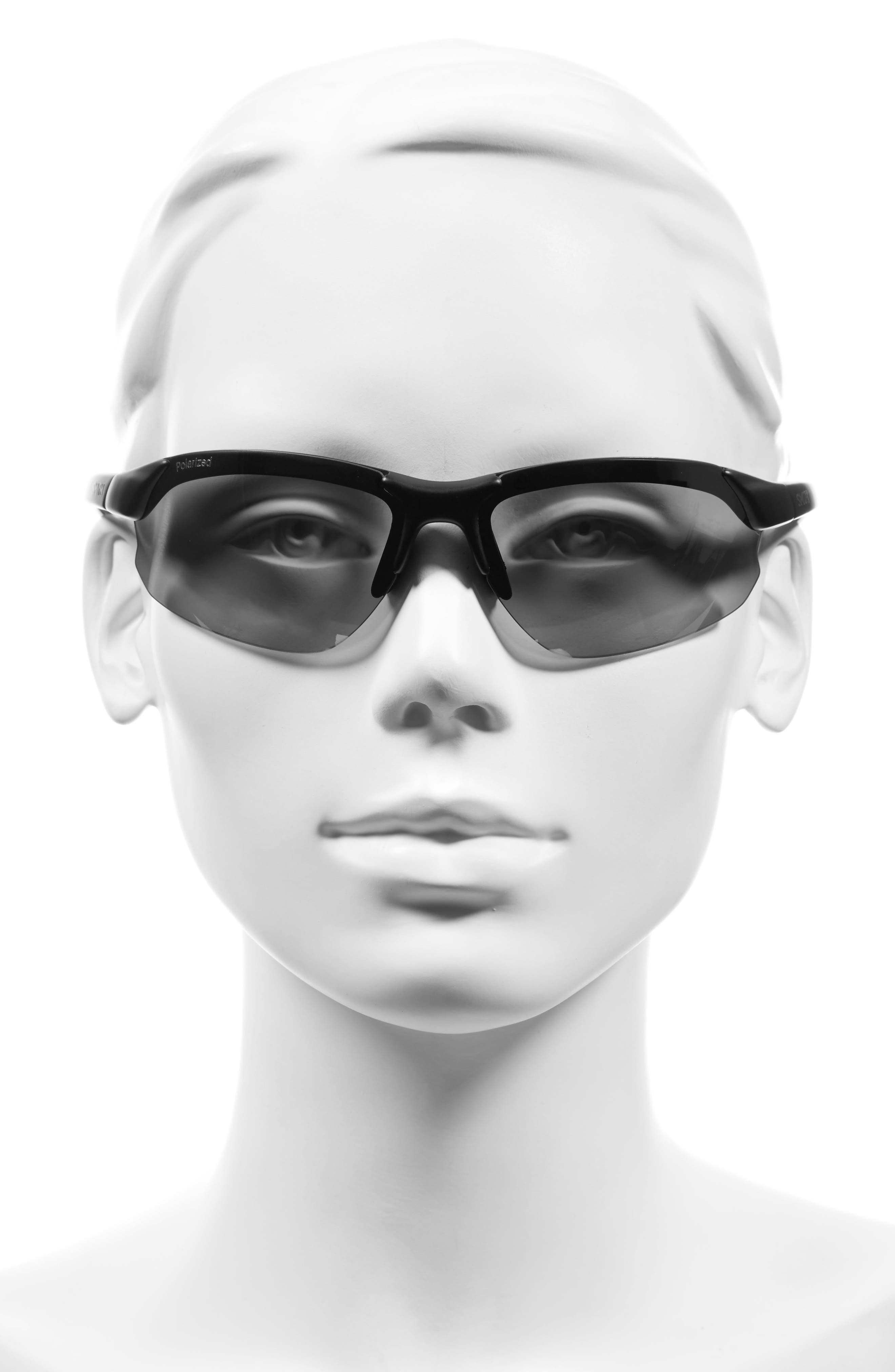 Parallel Max 69mm Polarized Sunglasses,                             Alternate thumbnail 3, color,                             001