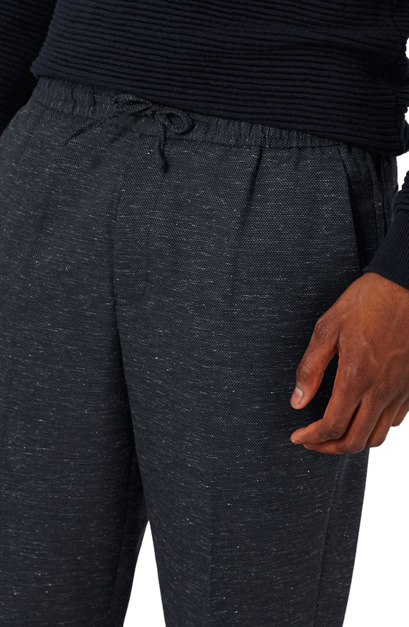 Romeo Flecked Jogger Pants,                             Alternate thumbnail 3, color,                             420