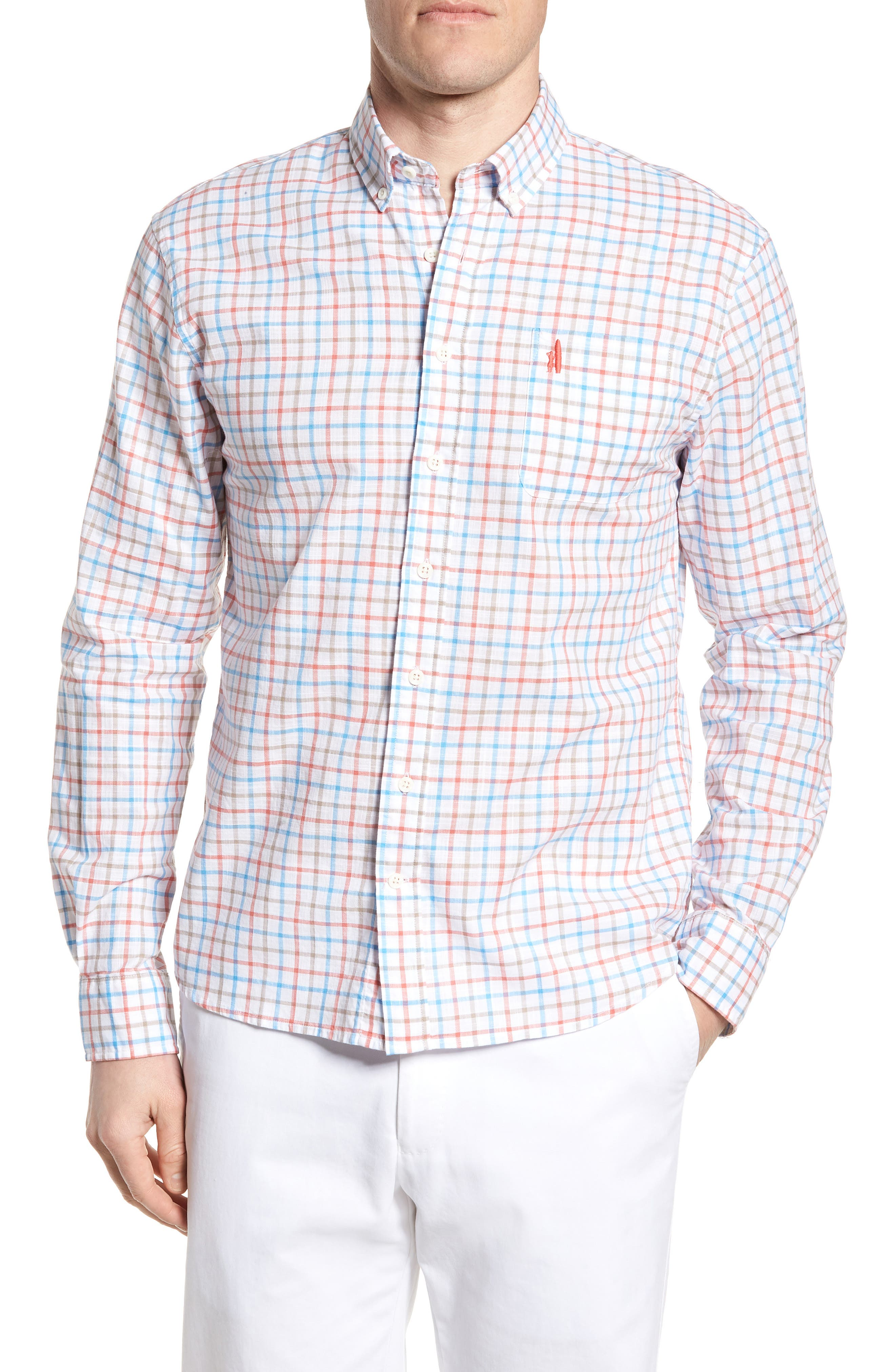 Grayson Regular Fit Sport Shirt,                             Main thumbnail 1, color,
