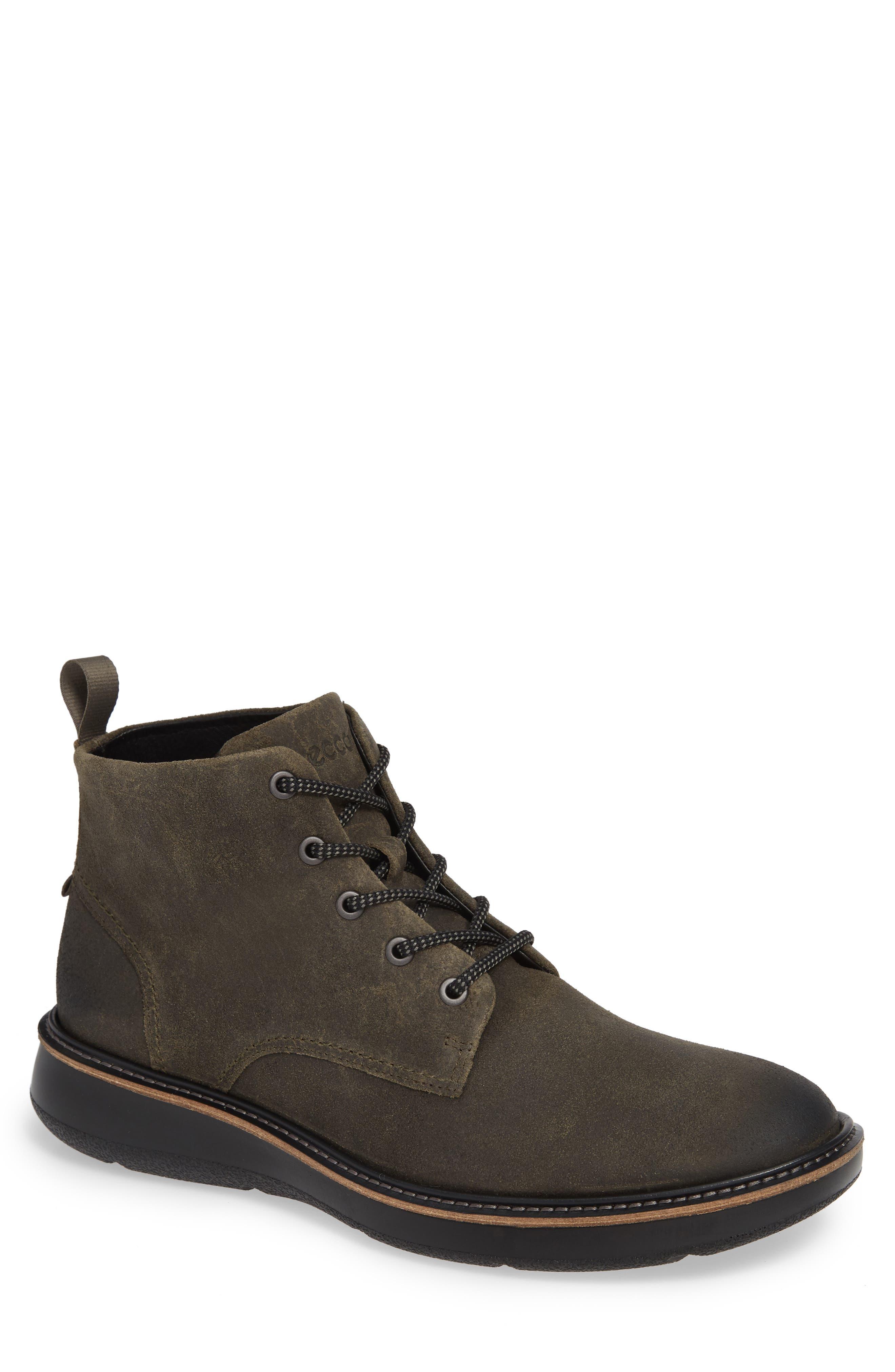 Aurora Plain Toe Boot,                         Main,                         color, TARMAC SUEDE