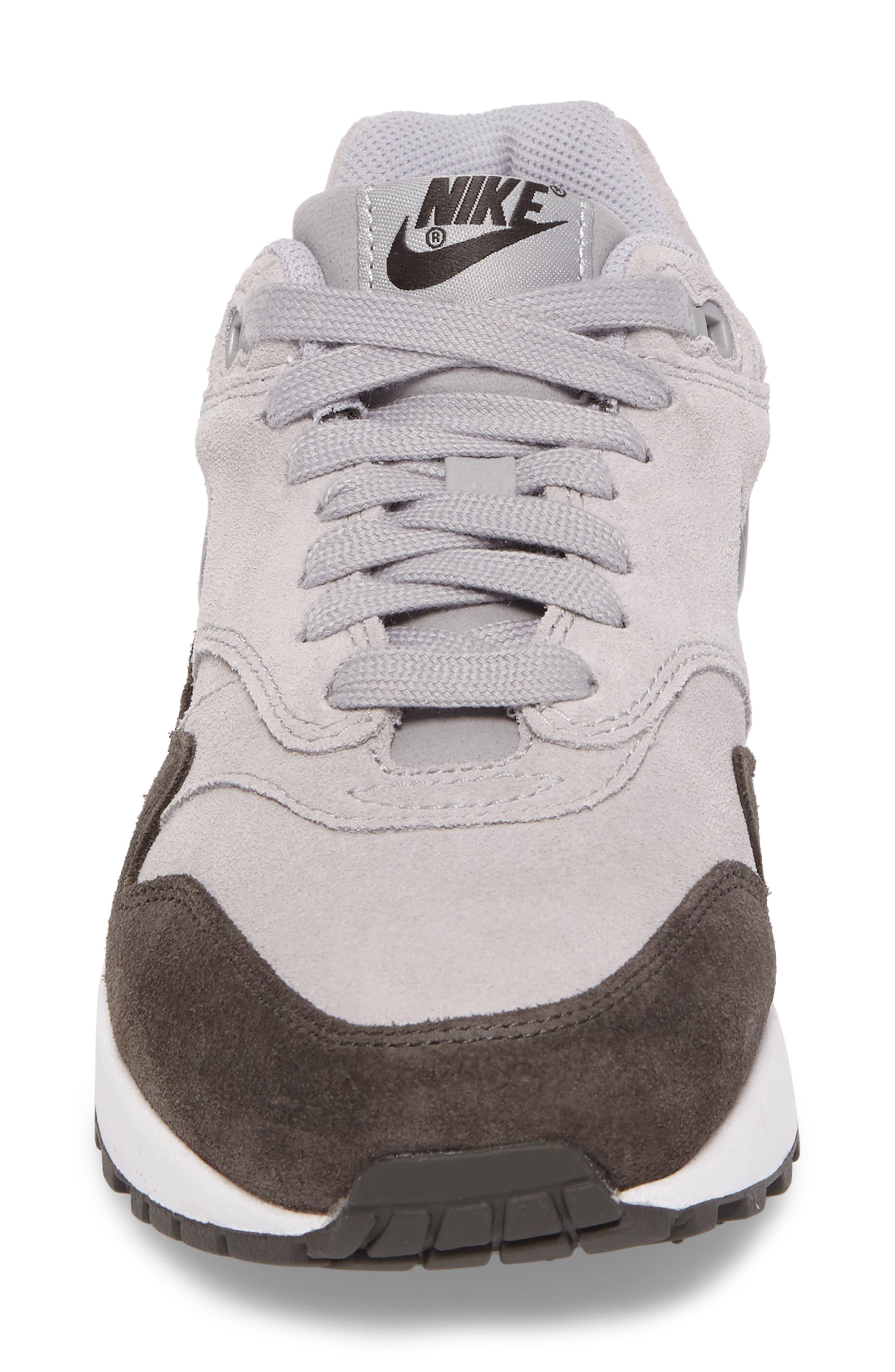 Air Max 1 Premium SC Sneaker,                             Alternate thumbnail 4, color,                             020