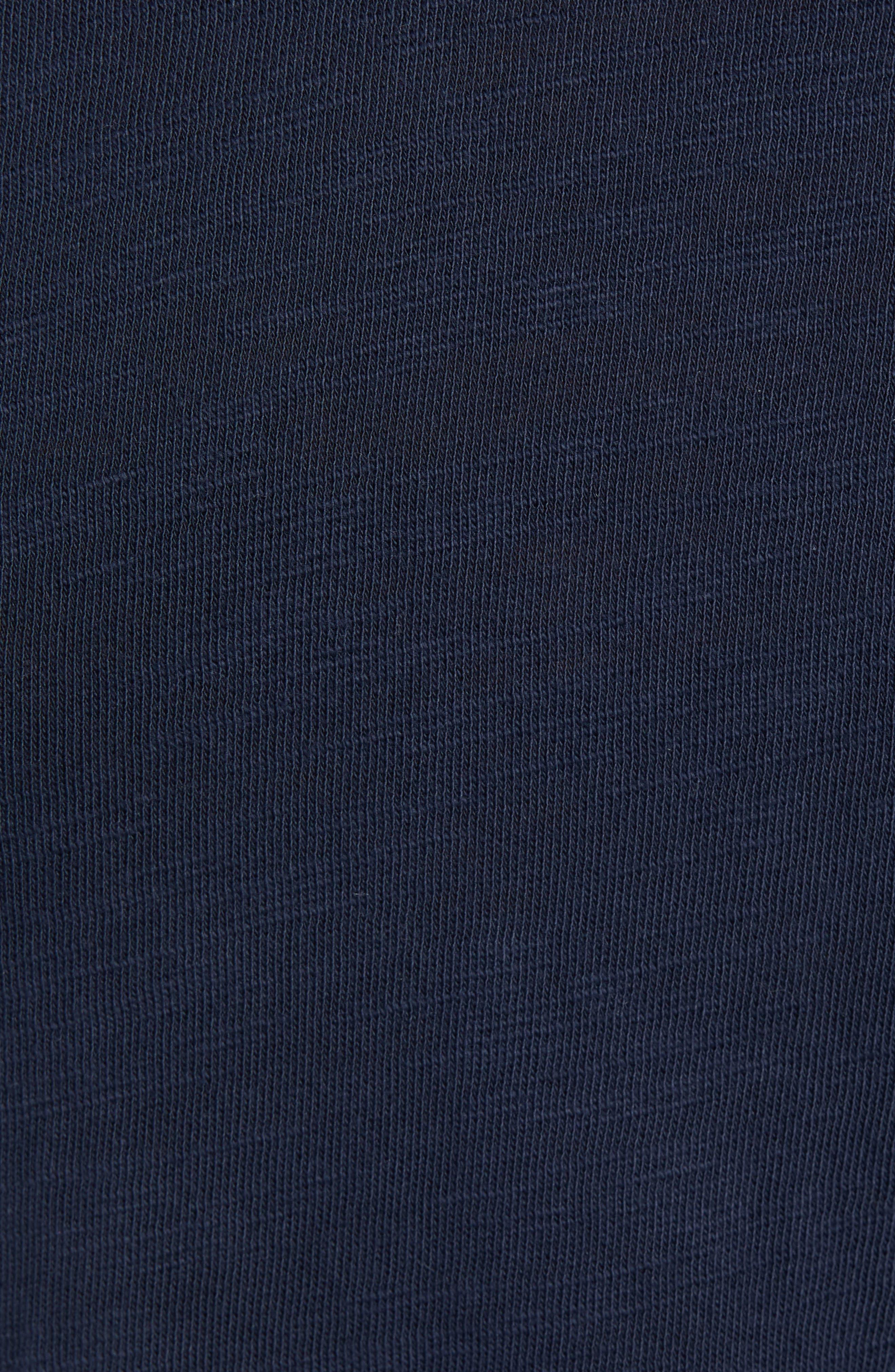 Standard Issue Henley T-Shirt,                             Alternate thumbnail 5, color,                             DEEP NAVY