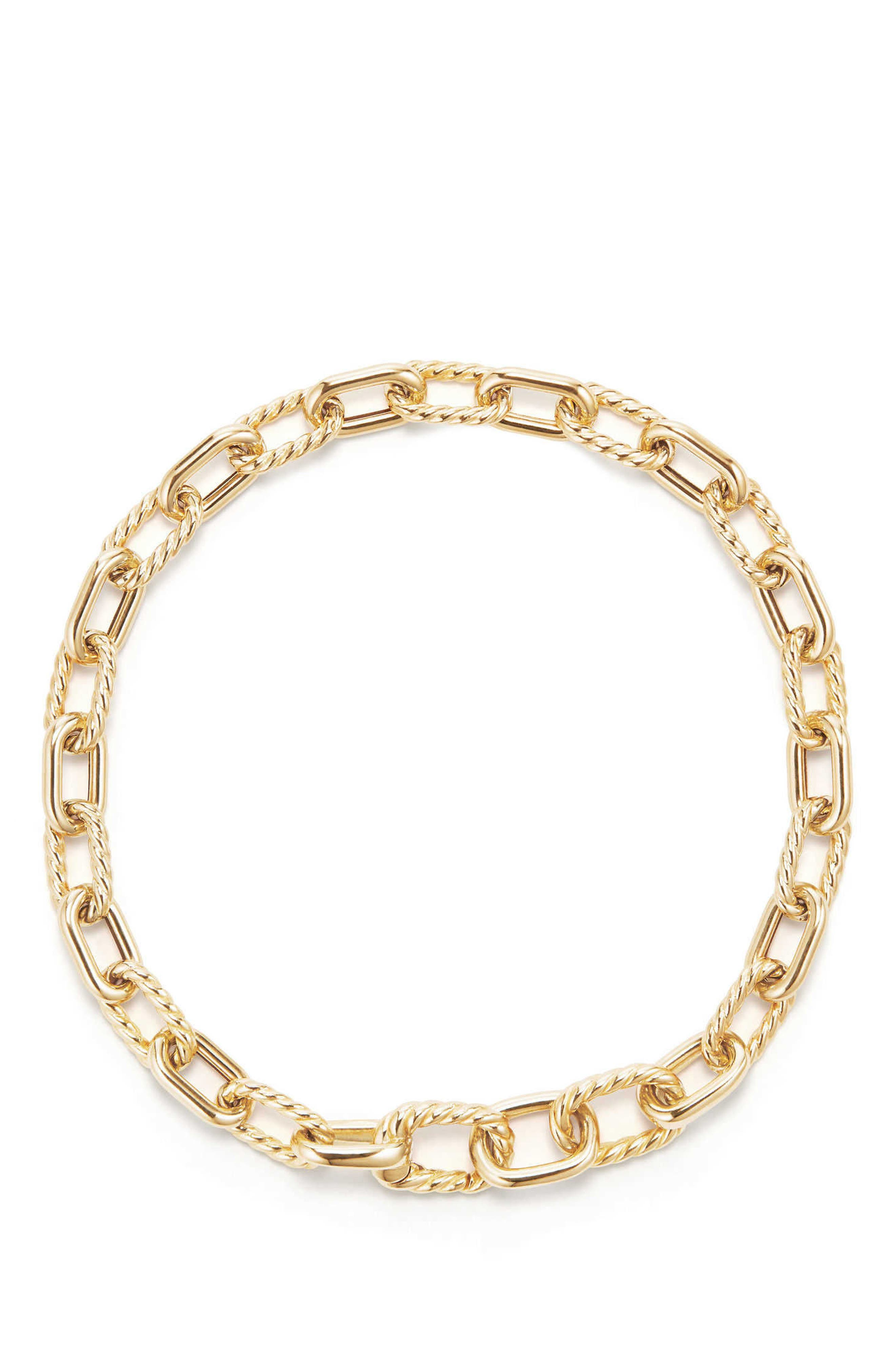 DY Madison Bold Chain Bracelet in 18K Gold,                         Main,                         color, GOLD