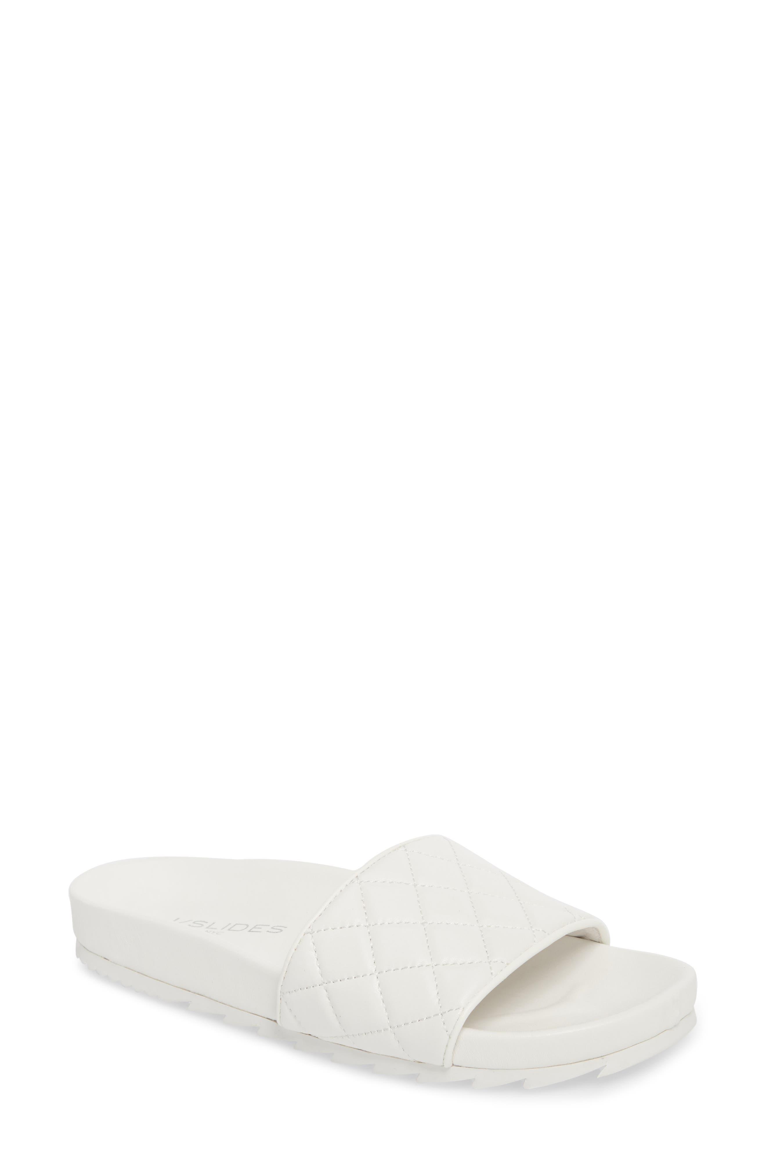 Jslides Edge Slide Sandal- White
