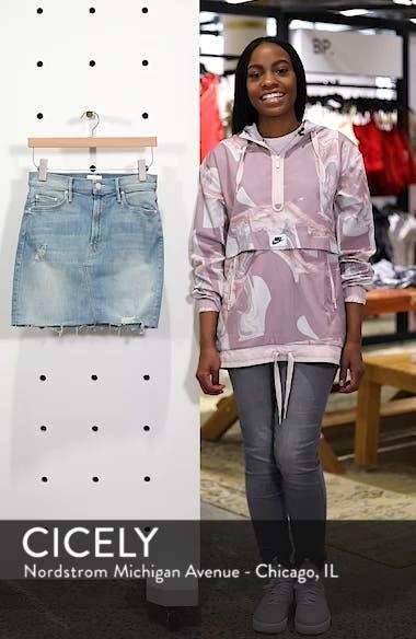 The Sacred Frayed High Waist Miniskirt, sales video thumbnail