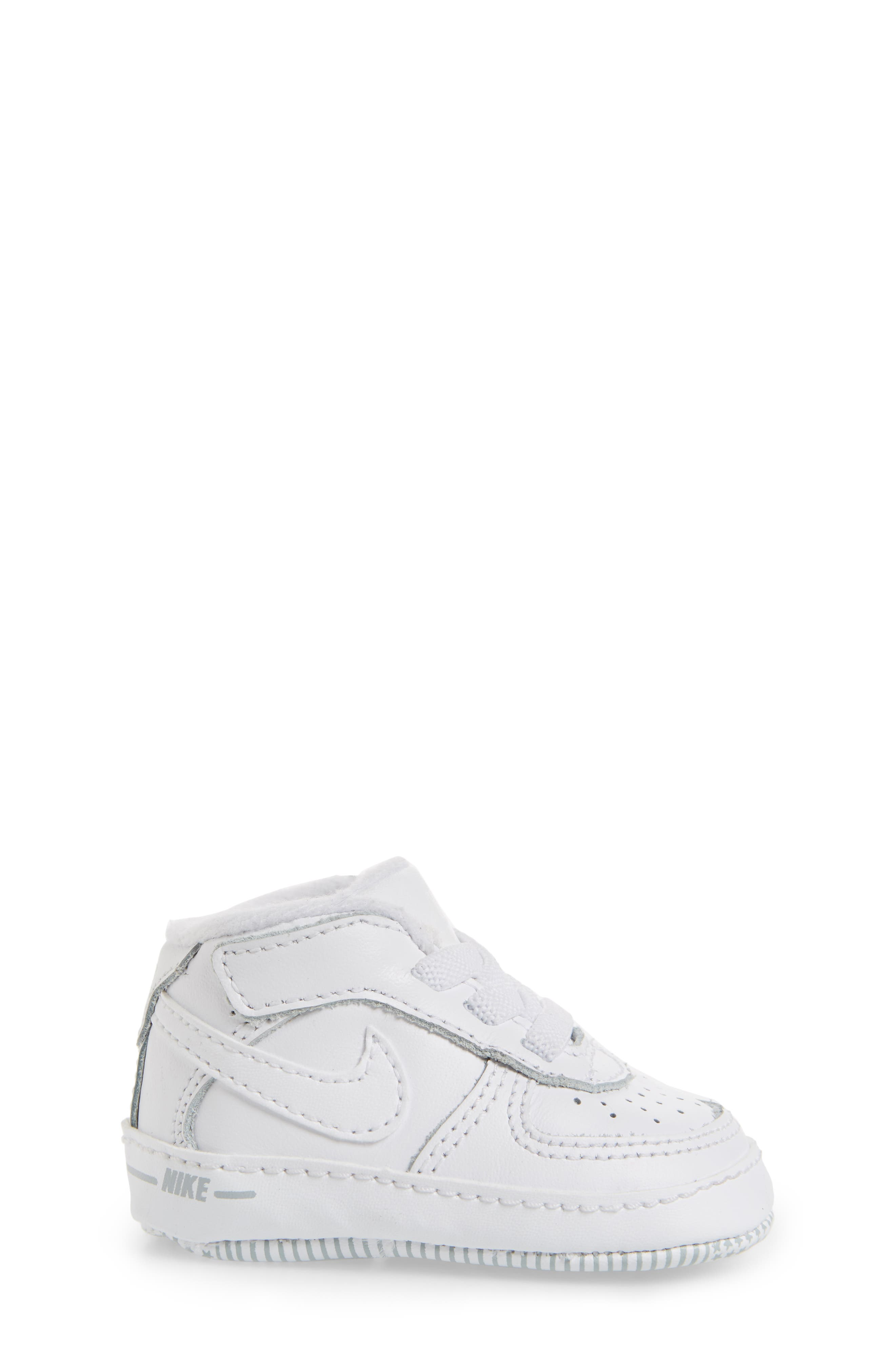 NIKE,                             Air Force 1 Sneaker,                             Alternate thumbnail 3, color,                             WHITE/ WHITE/ WHITE