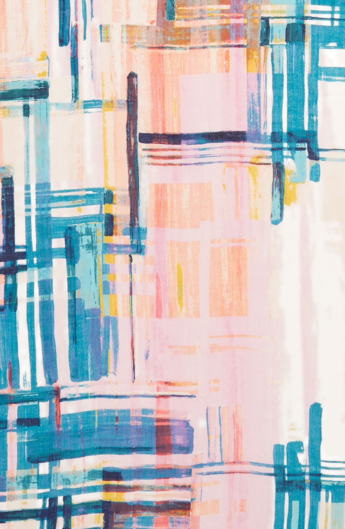 Eyelash Trim Print Cashmere & Silk Wrap,                             Alternate thumbnail 111, color,