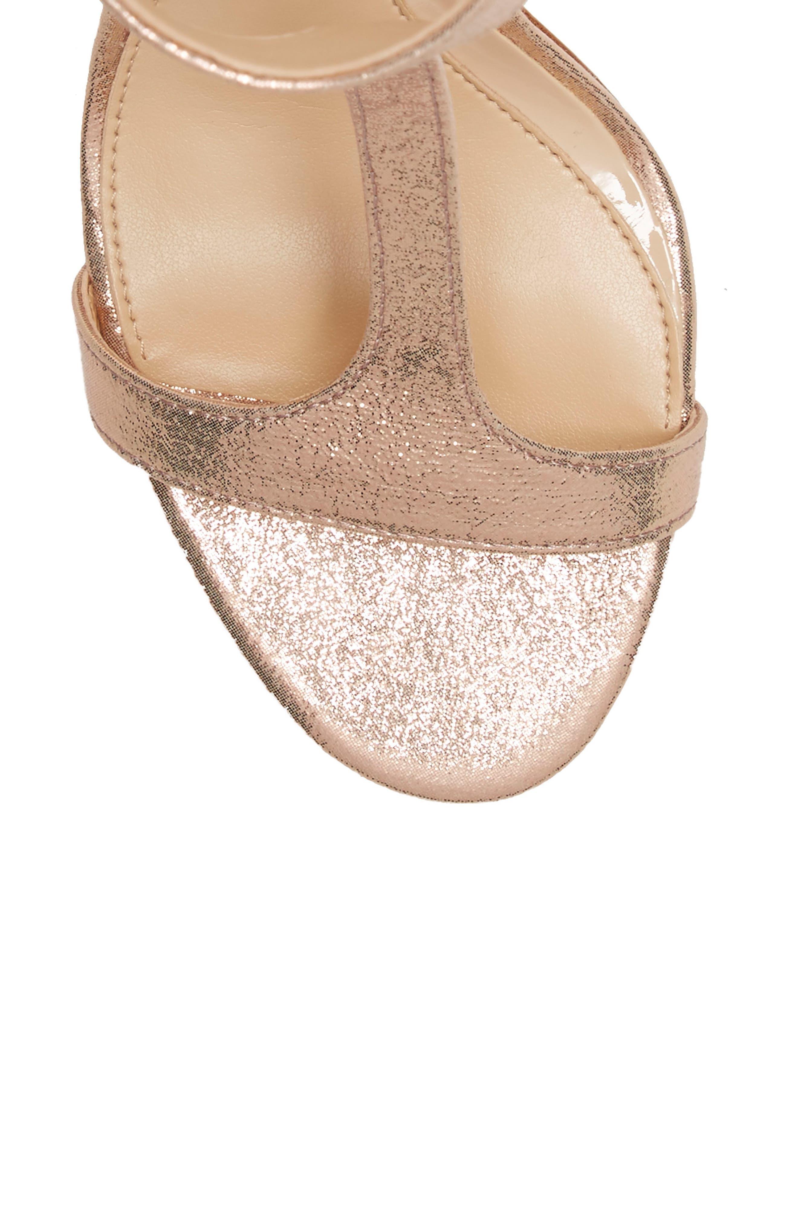 'Phoebe' Embellished T-Strap Sandal,                             Alternate thumbnail 75, color,