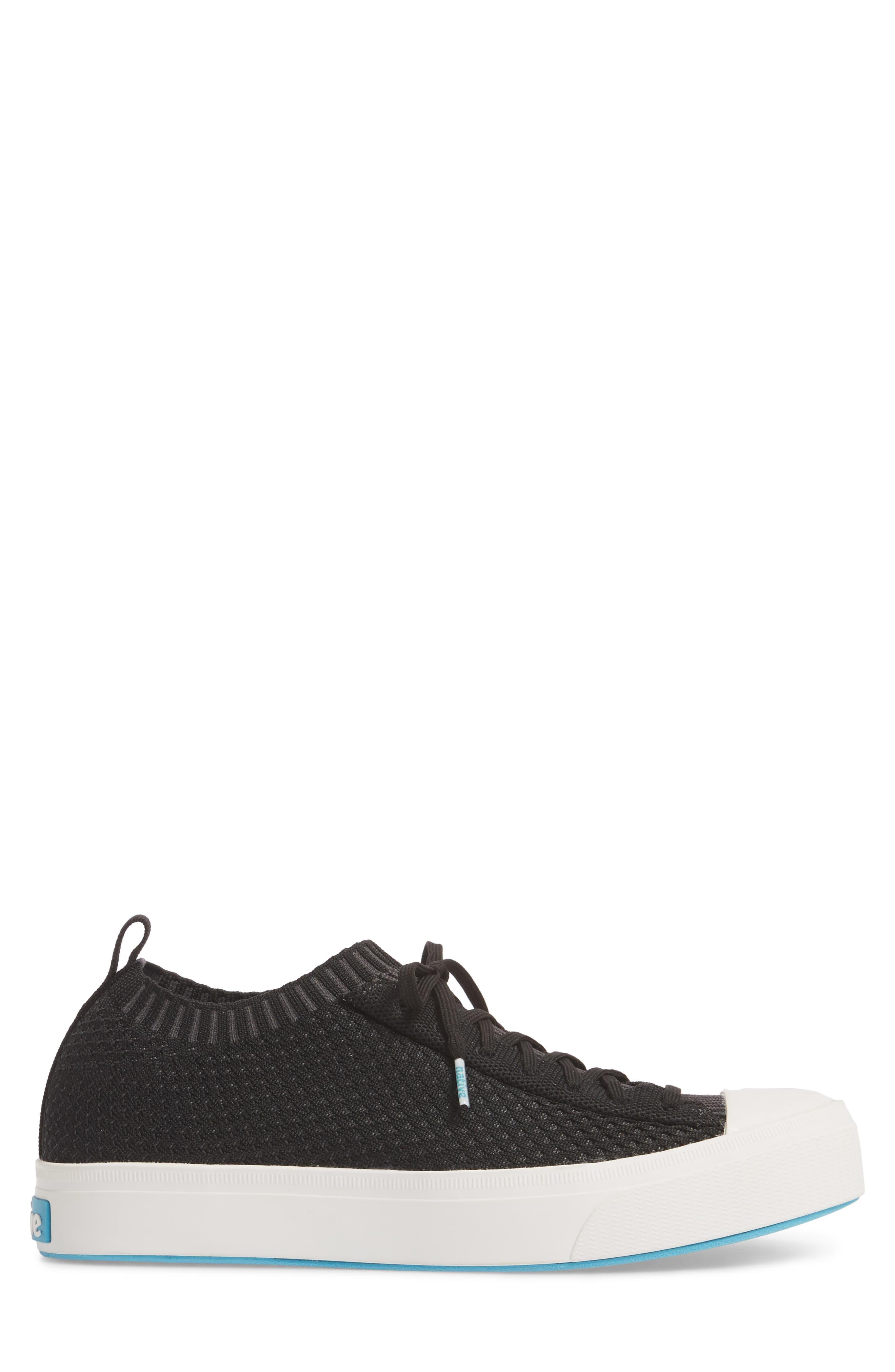 Jefferson 2.0 Liteknit Lace-Up Sneaker,                             Alternate thumbnail 3, color,                             JIFFY BLACK/ SHELL WHITE