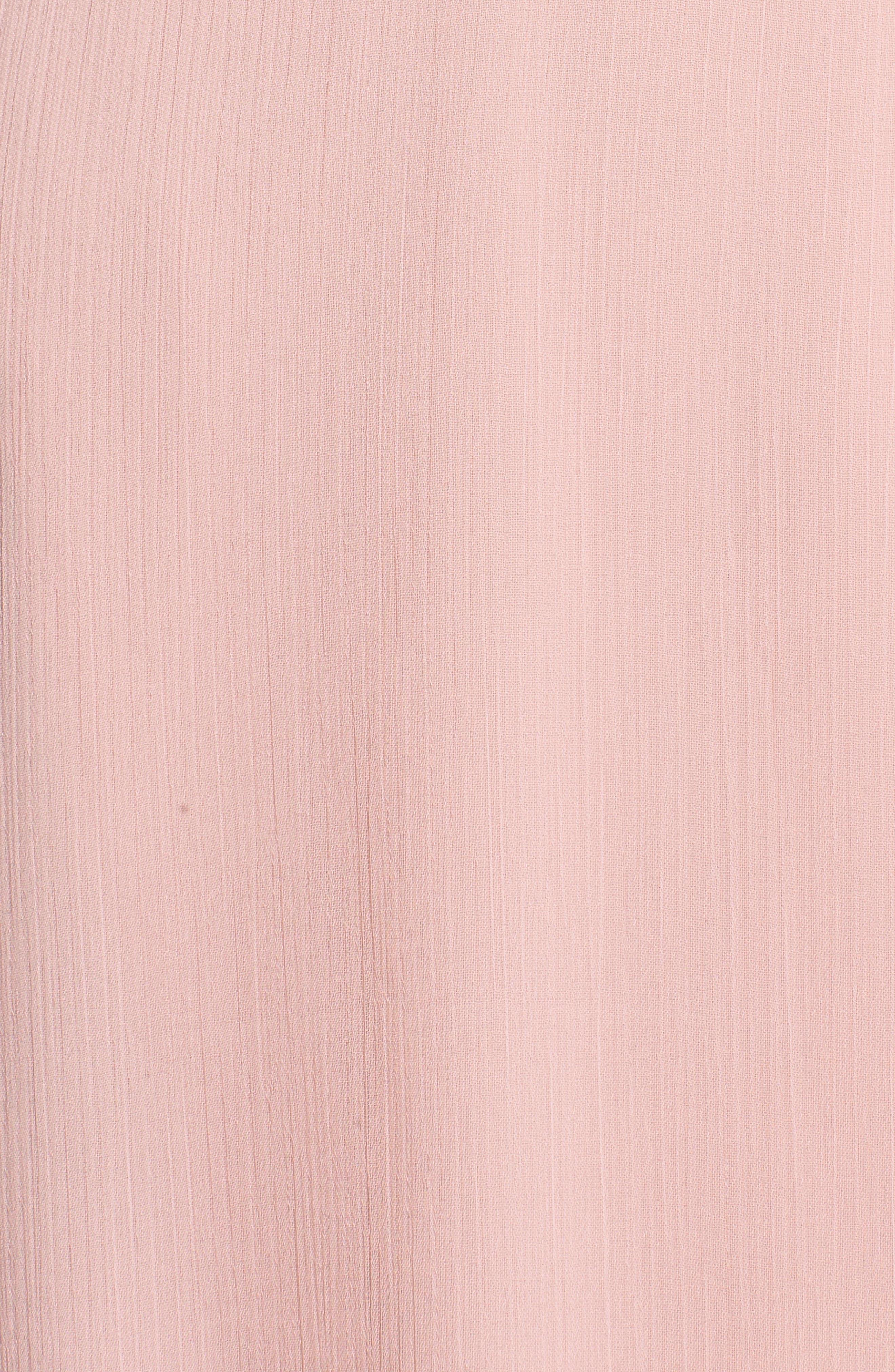 Meryl Long Sleeve Wrap Maxi Dress,                             Alternate thumbnail 7, color,                             650