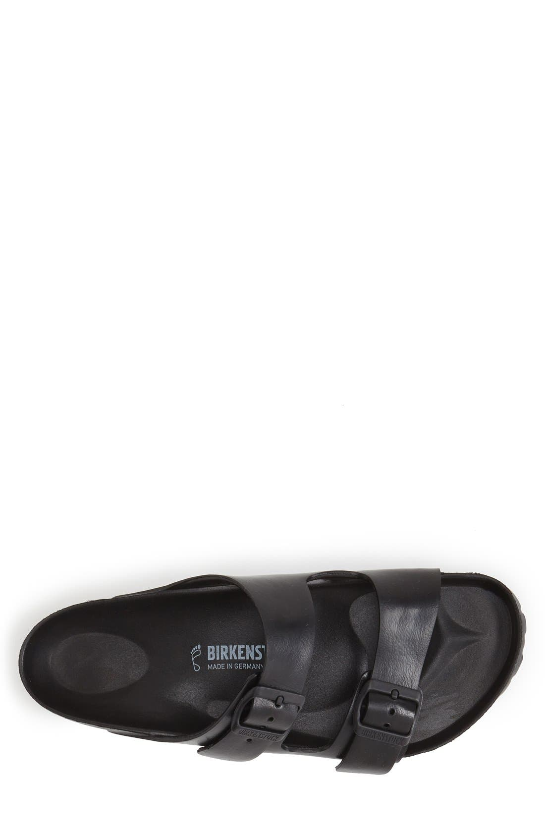 'Essentials - Arizona EVA' Waterproof Slide Sandal,                             Alternate thumbnail 3, color,                             BLACK
