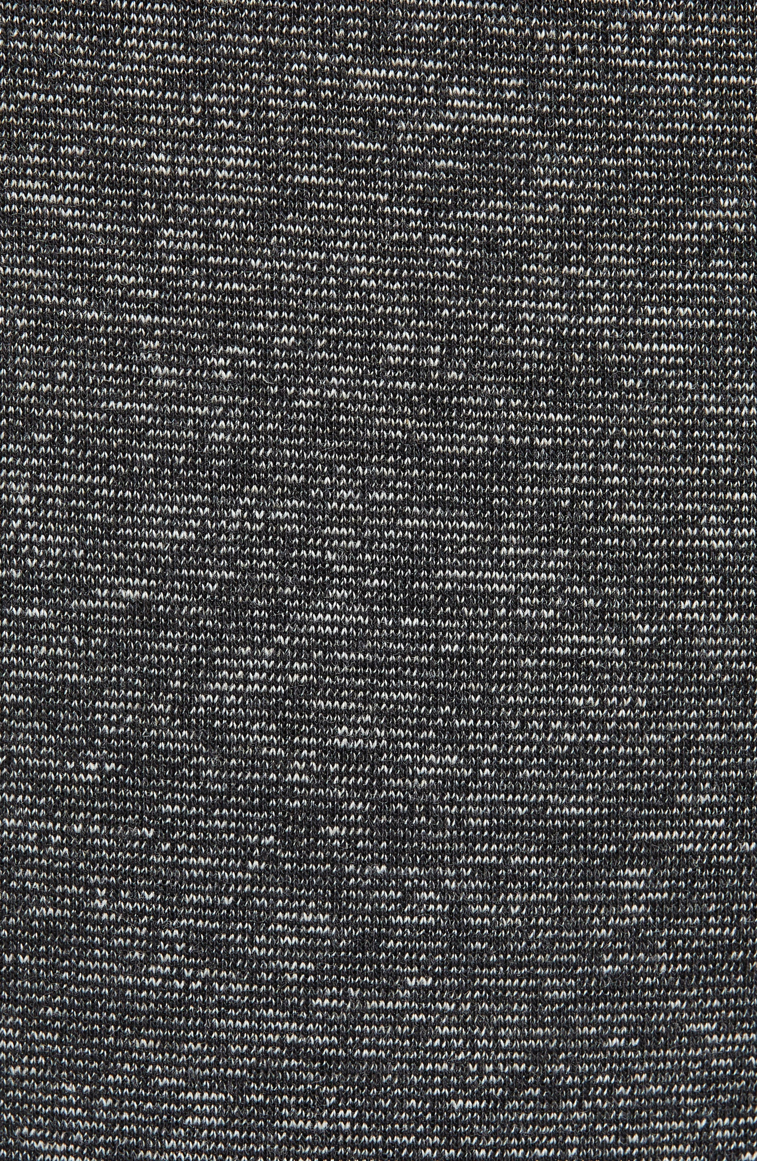 ID Stadium Knit Pants,                             Alternate thumbnail 5, color,                             STADIUM HEATHER/ BLACK