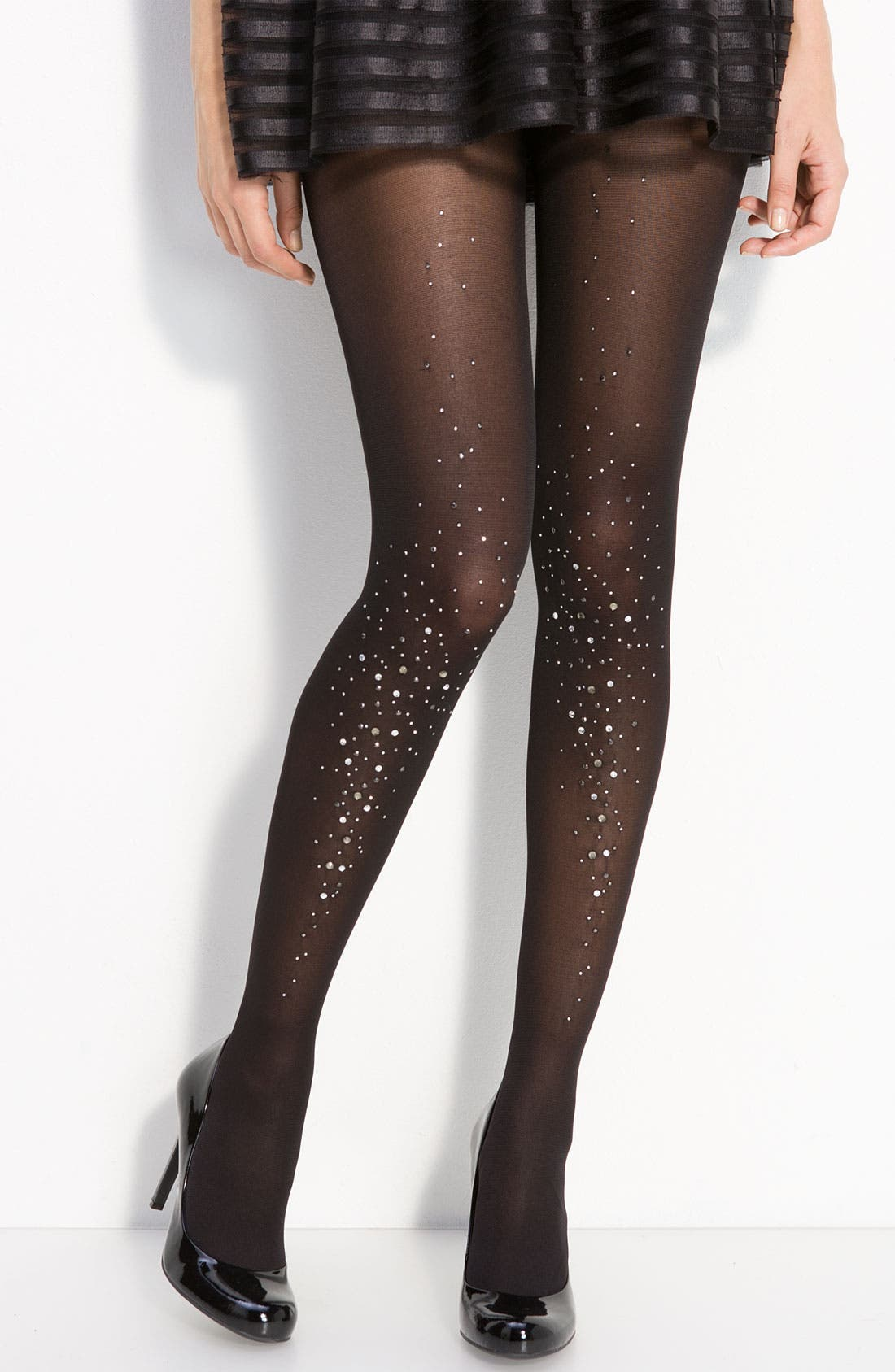'Sparkly' Tights,                         Main,                         color, 001