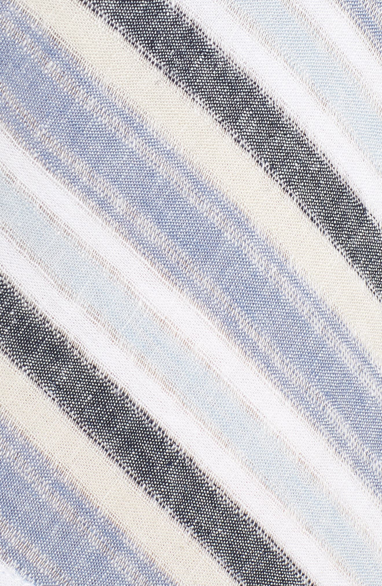 Stripe A-Line Maxi Dress,                             Alternate thumbnail 5, color,                             420