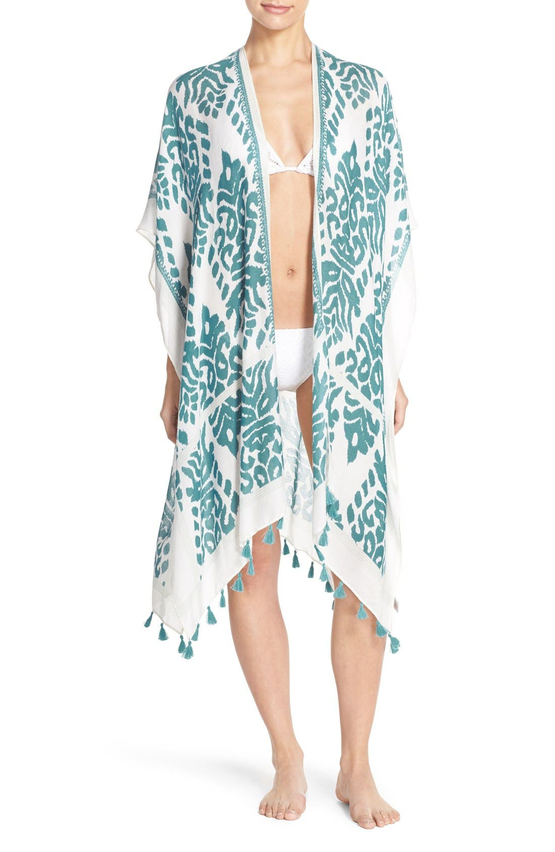 Fringed Swim Cover-Up,                             Main thumbnail 5, color,