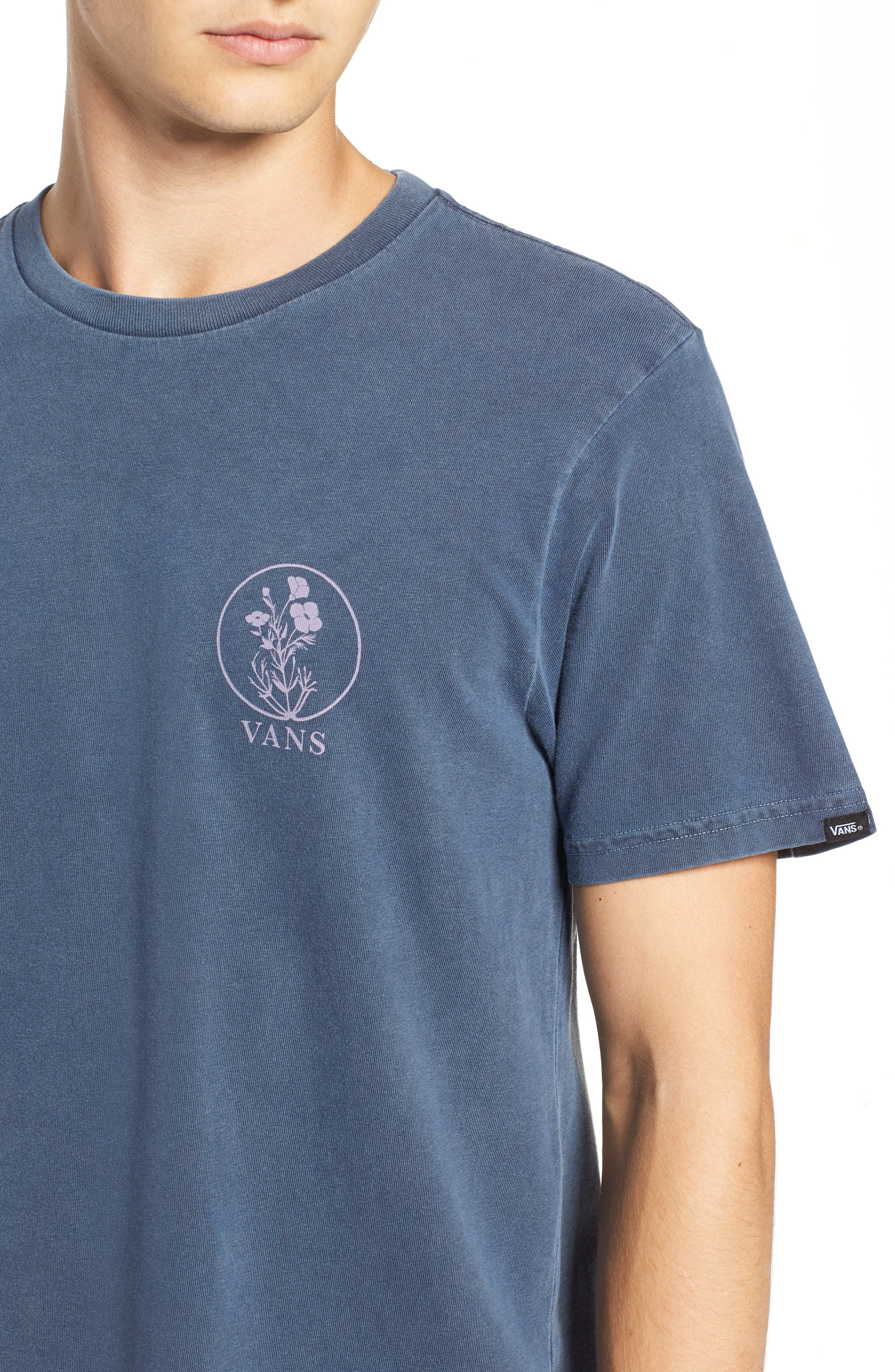 Vintage California Bred Graphic T-Shirt,                             Alternate thumbnail 4, color,                             DRESS BLUES