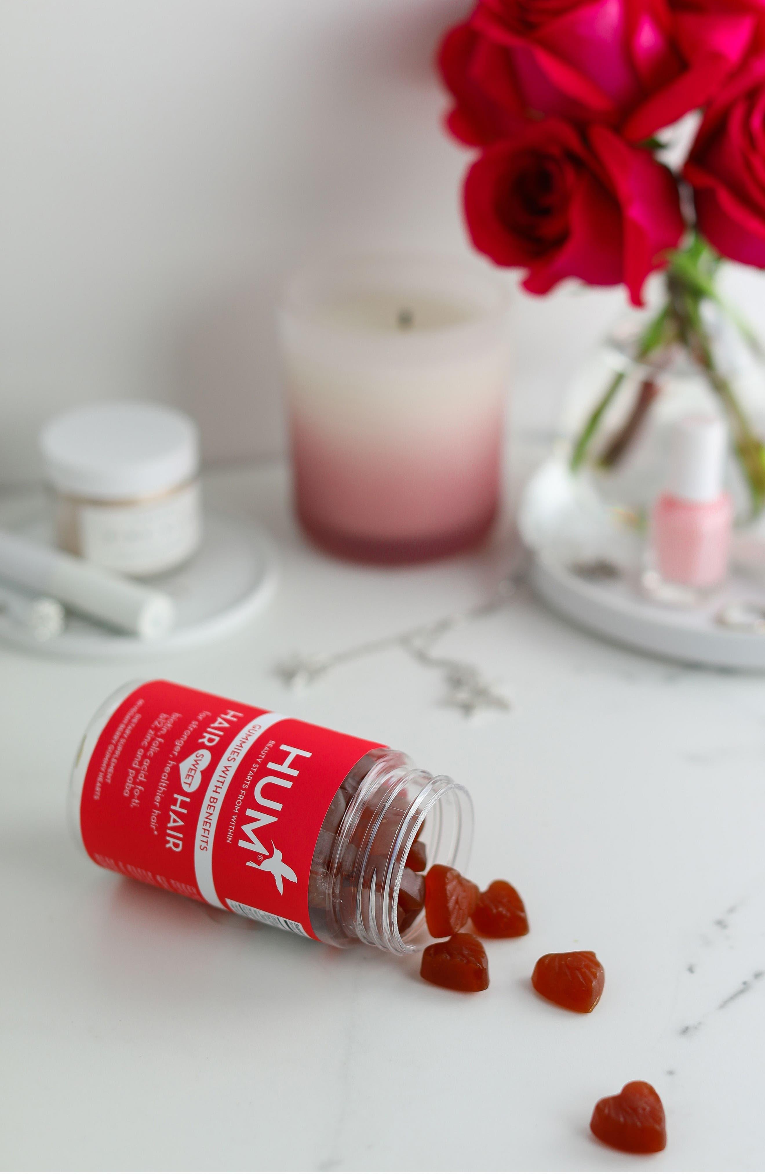 Hair Sweet Hair Gummies Supplement for Healthy Hair,                             Alternate thumbnail 6, color,                             NO COLOR