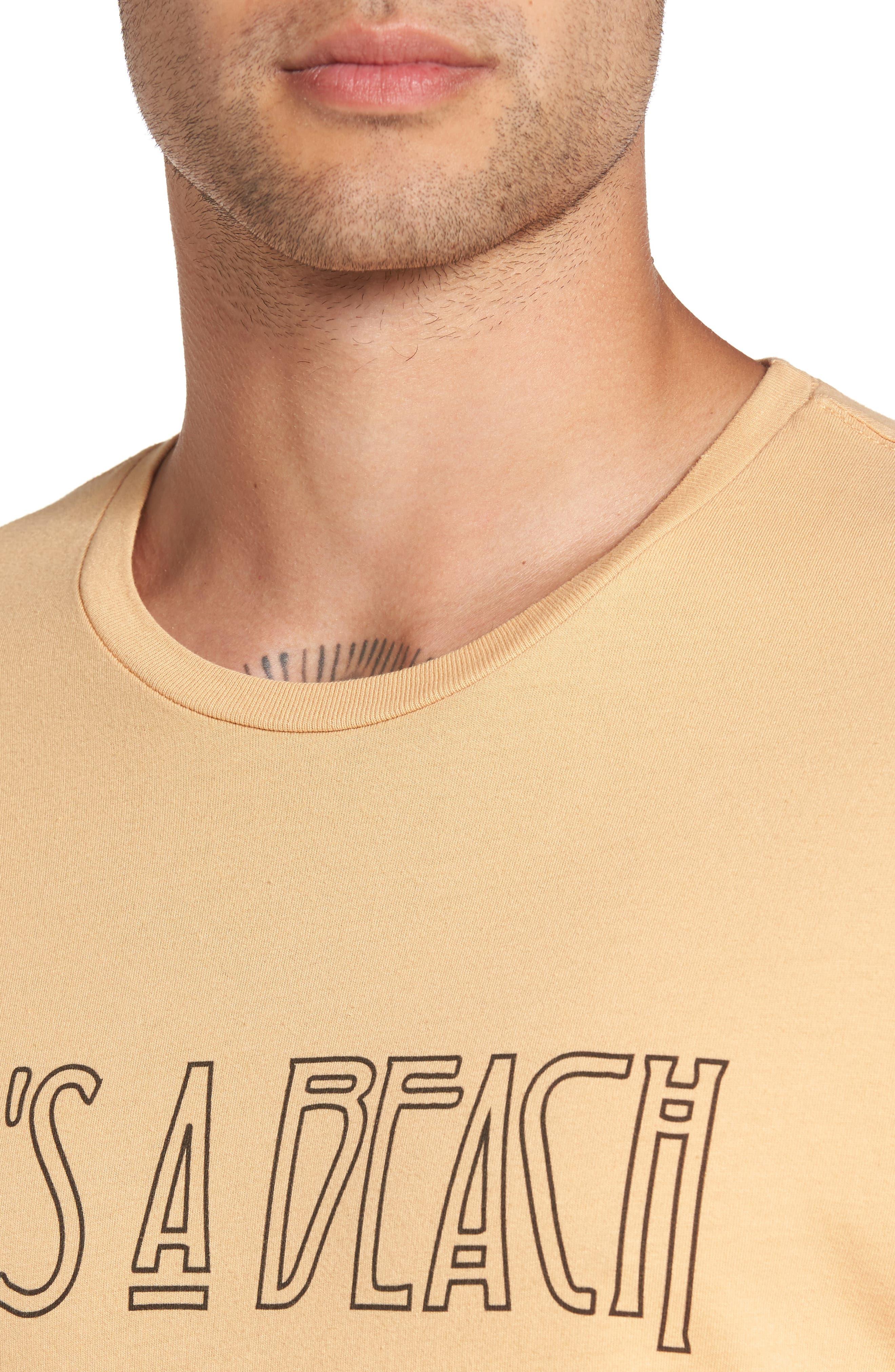 Life's A Beach T-Shirt,                             Alternate thumbnail 4, color,