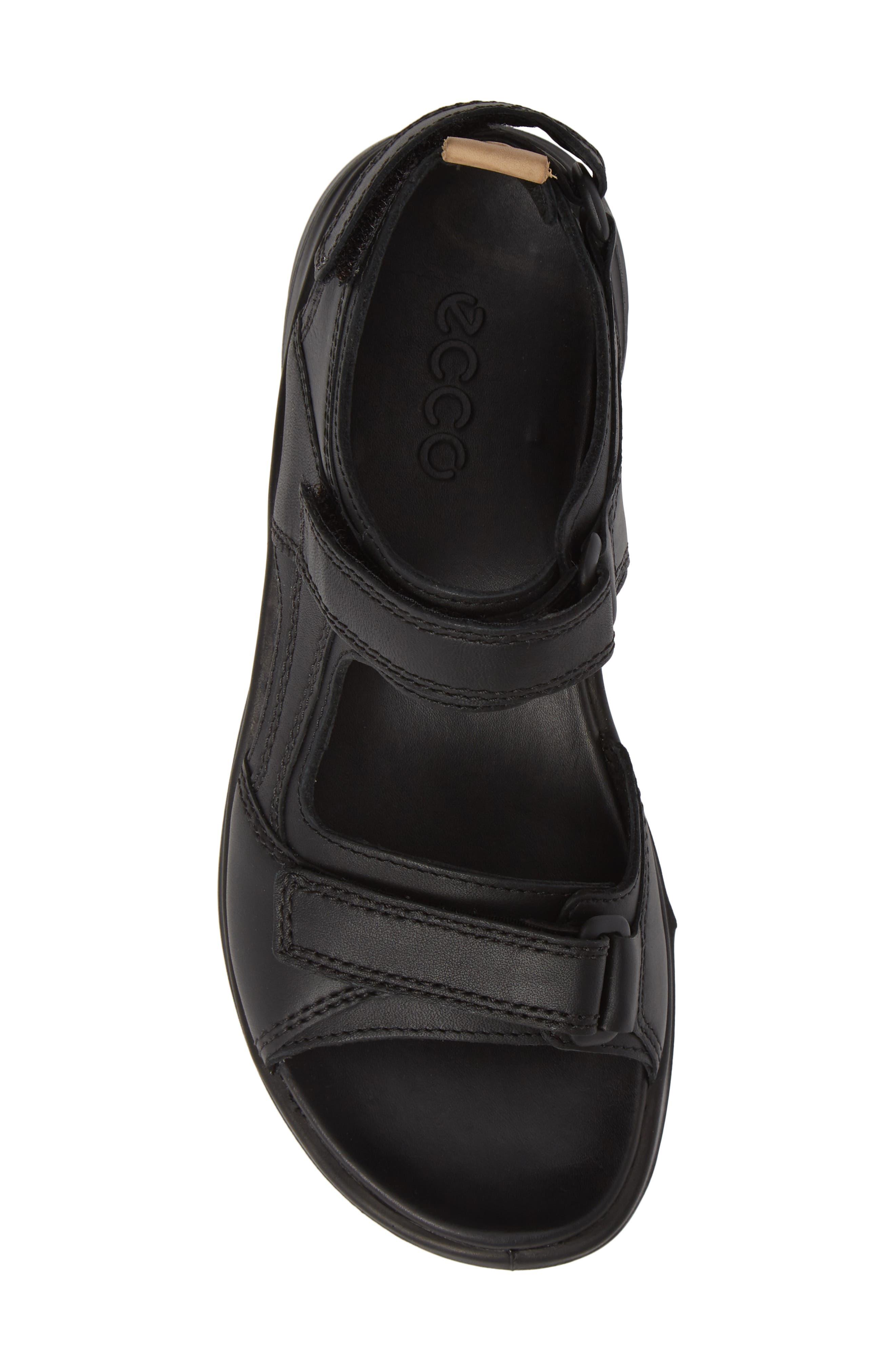 Premium Offroad Sandal,                             Alternate thumbnail 5, color,                             BLACK NUBUCK LEATHER