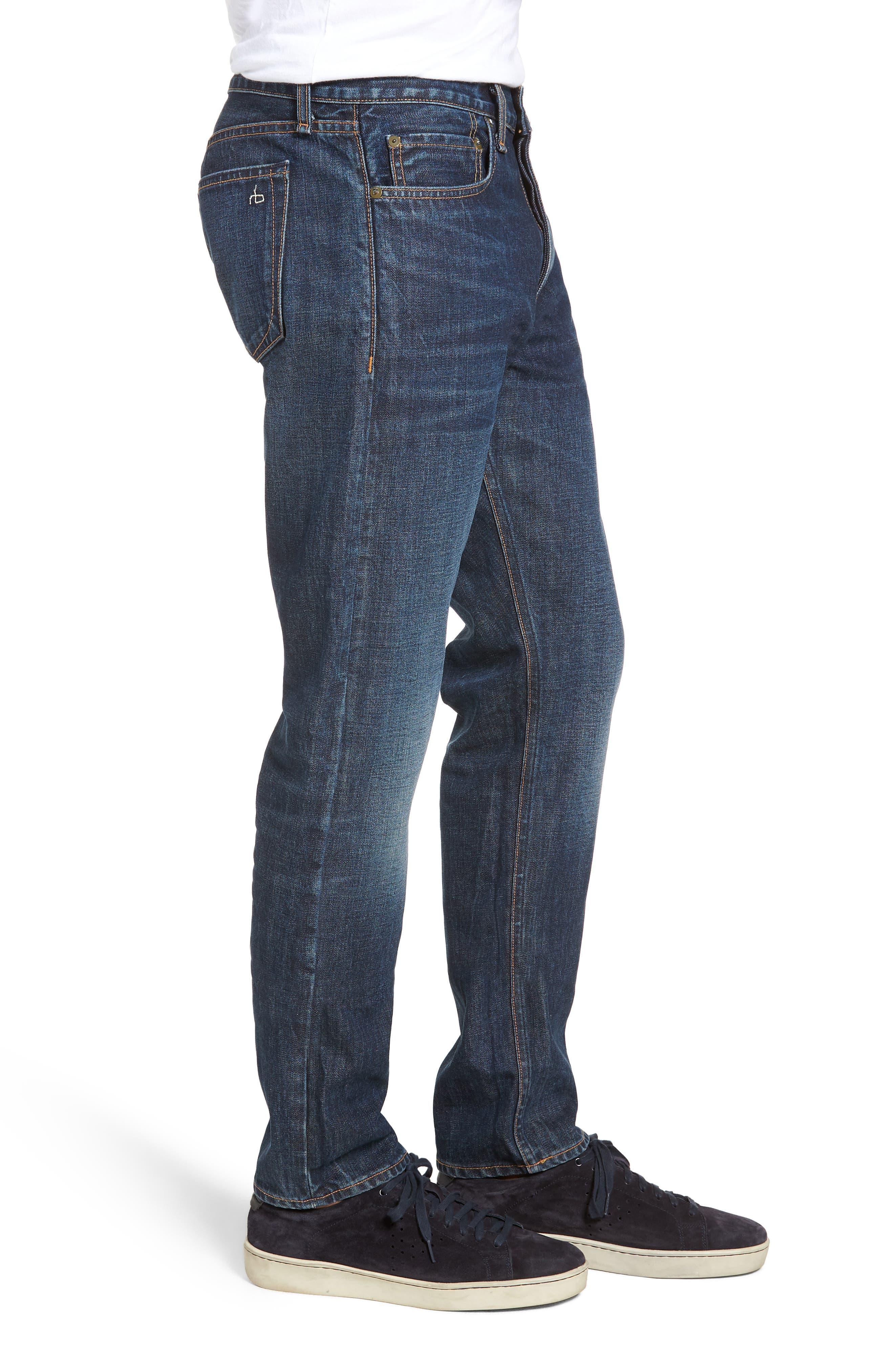 Fit 2 Slim Fit Jeans,                             Alternate thumbnail 3, color,                             GLASTONBURY