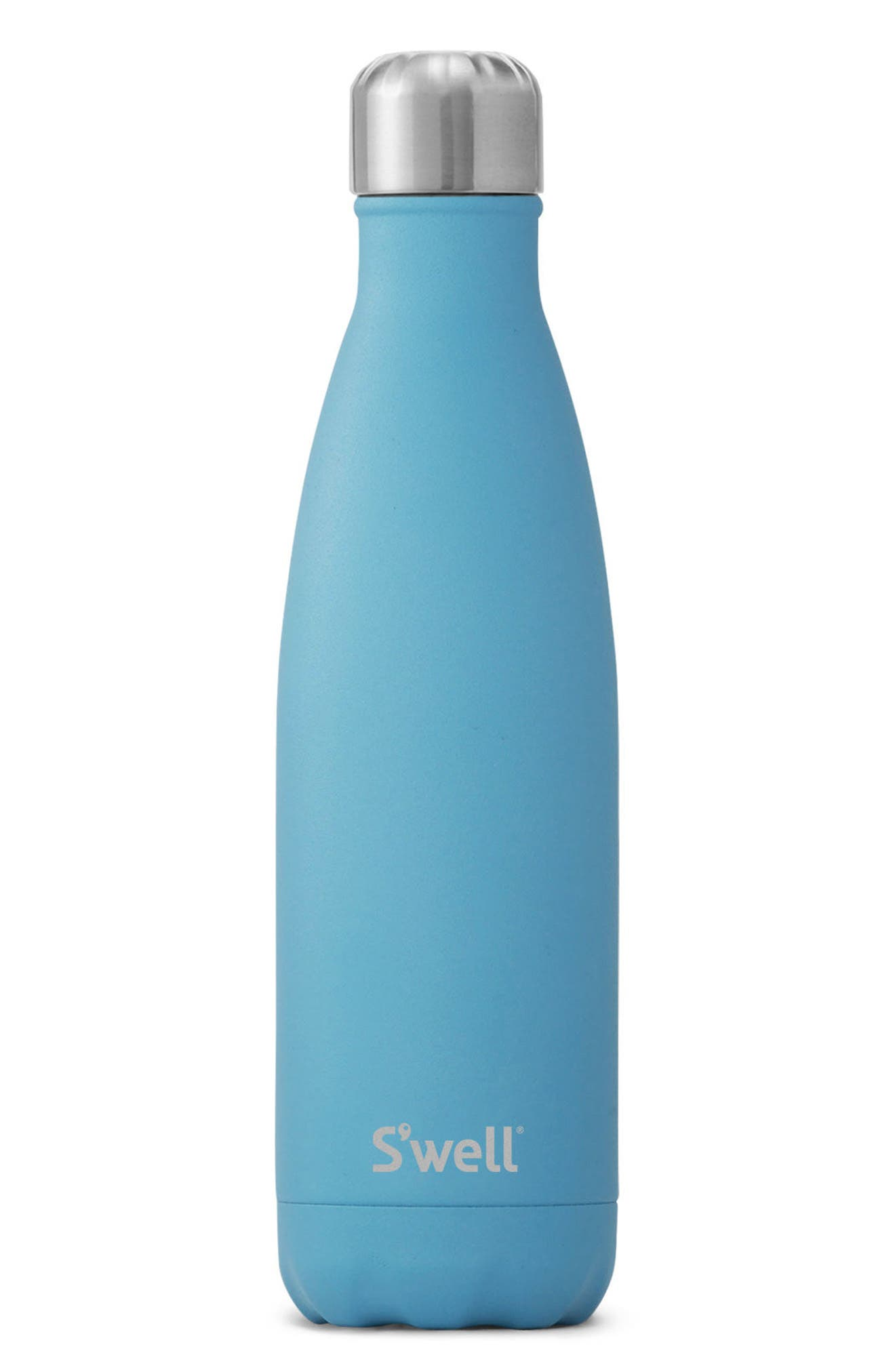 Blue Fluorite Insulated Stainless Steel Water Bottle,                         Main,                         color, BLUE FLUORITE
