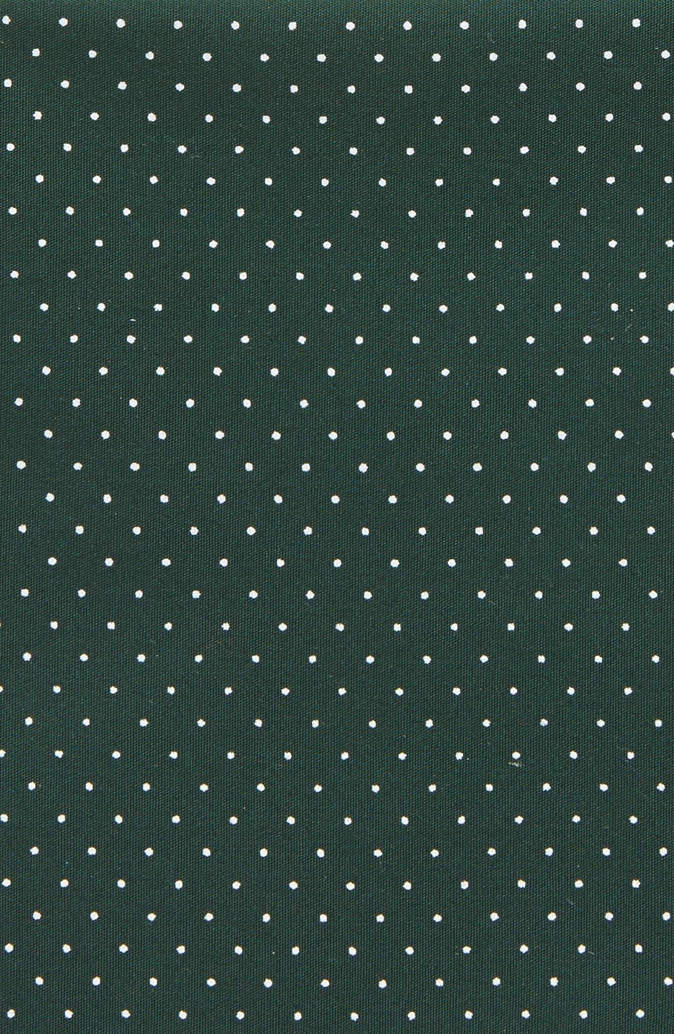 Micro Dot Pocket Square,                             Alternate thumbnail 6, color,