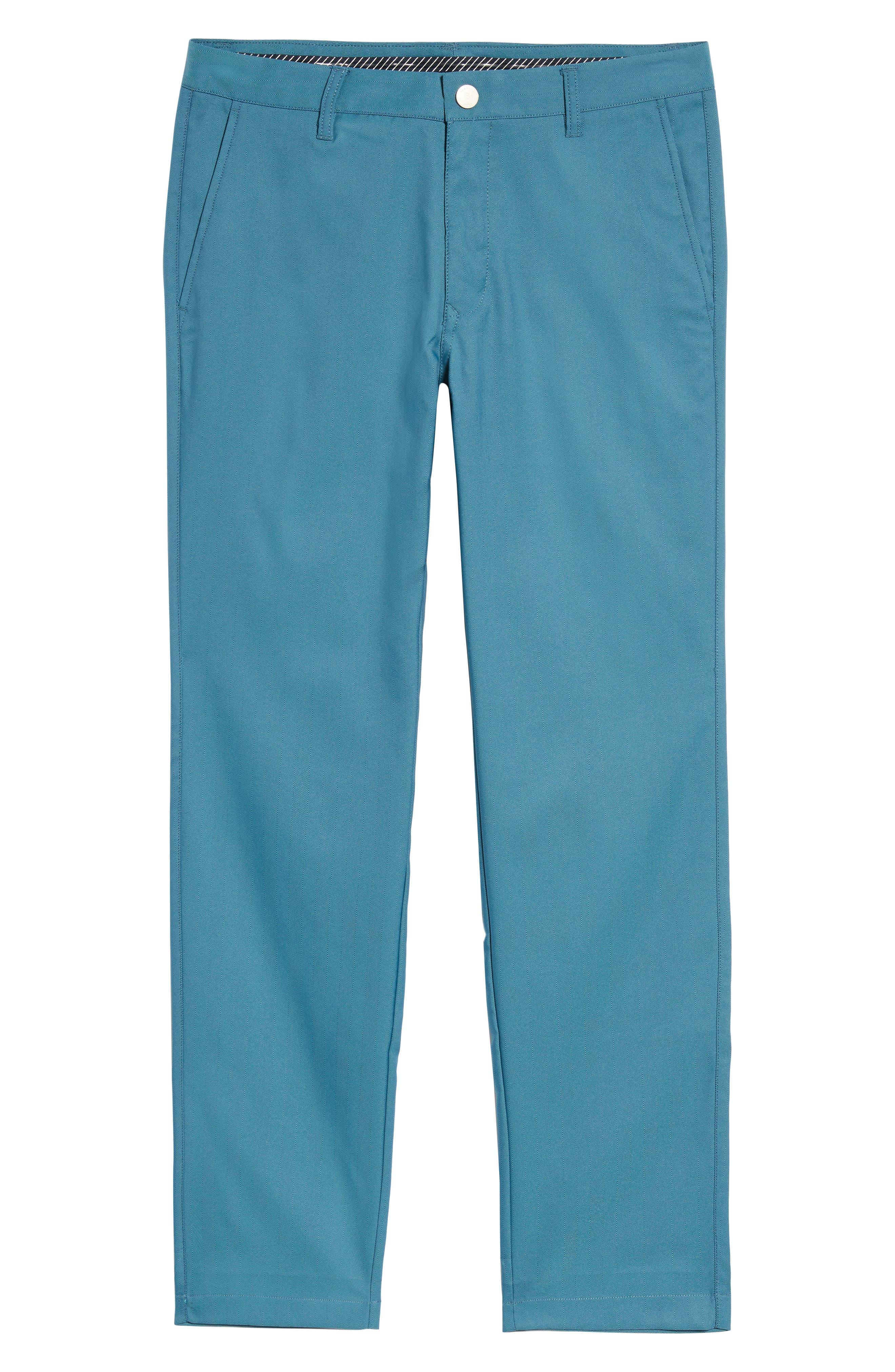 Highland Slim Fit Golf Pants,                             Alternate thumbnail 6, color,                             400