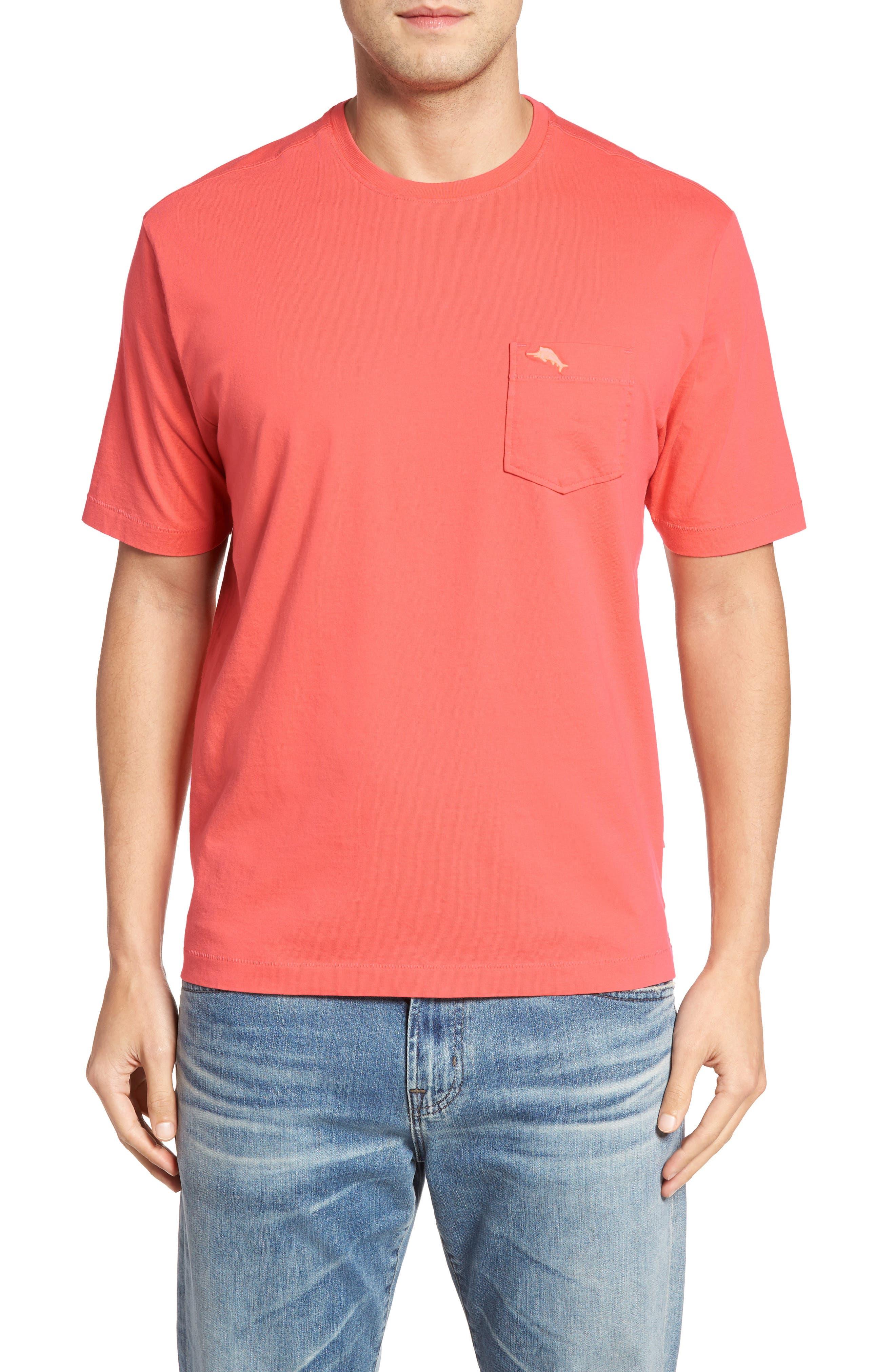 New Bali Sky Pima Cotton Pocket T-Shirt,                             Main thumbnail 50, color,