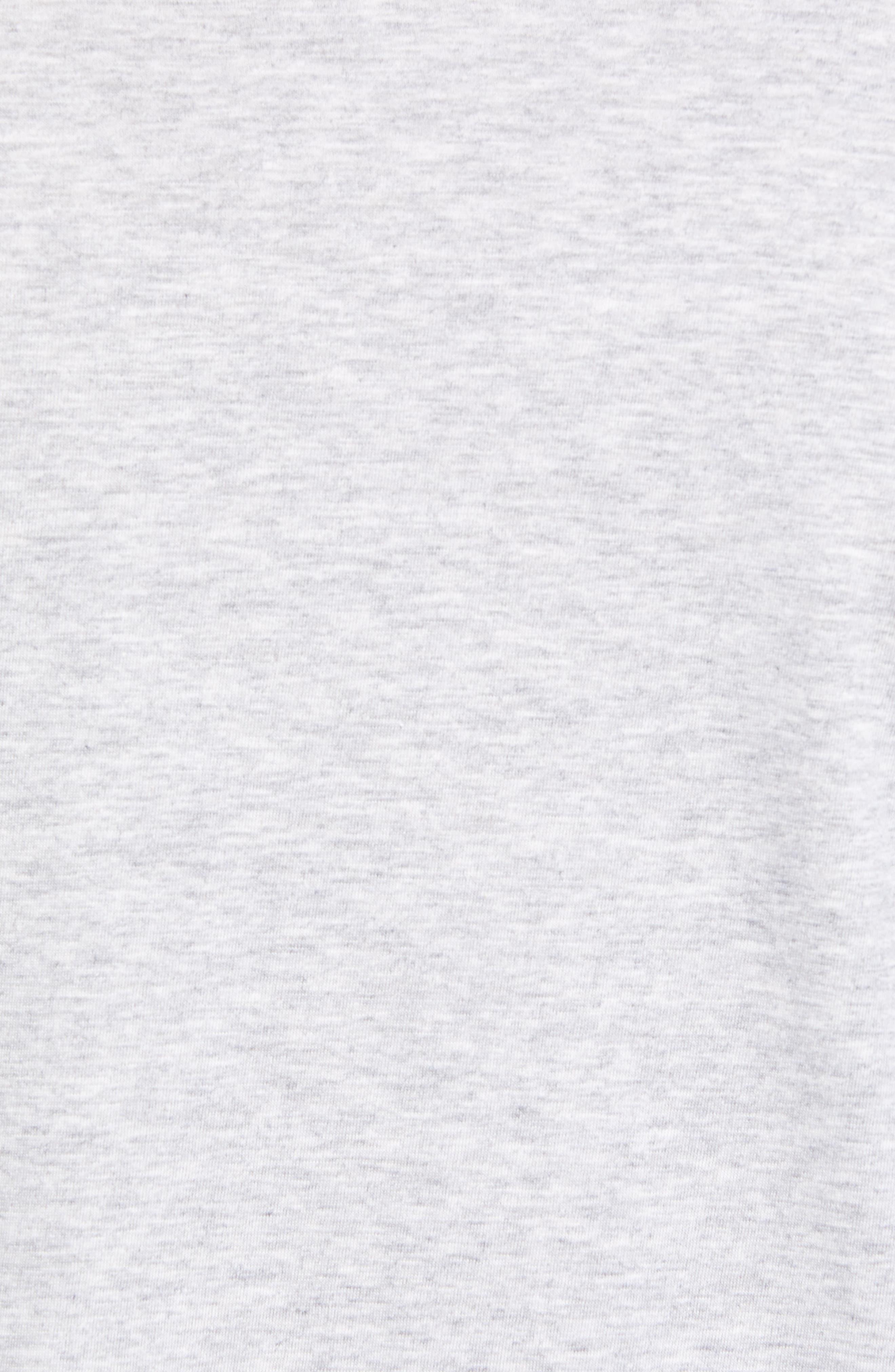 Long Sleeve T-Shirt,                             Alternate thumbnail 5, color,                             SILVER CHINE