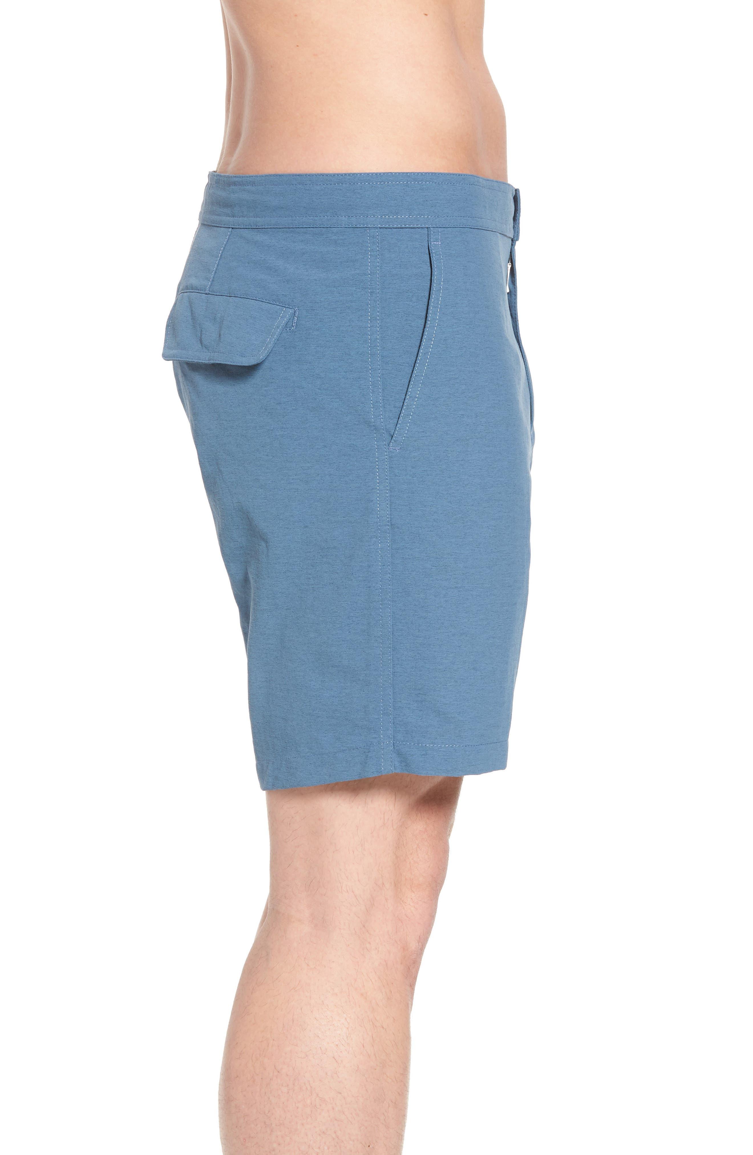 Bond Hybrid Shorts,                             Alternate thumbnail 3, color,                             TIDAL BLUE