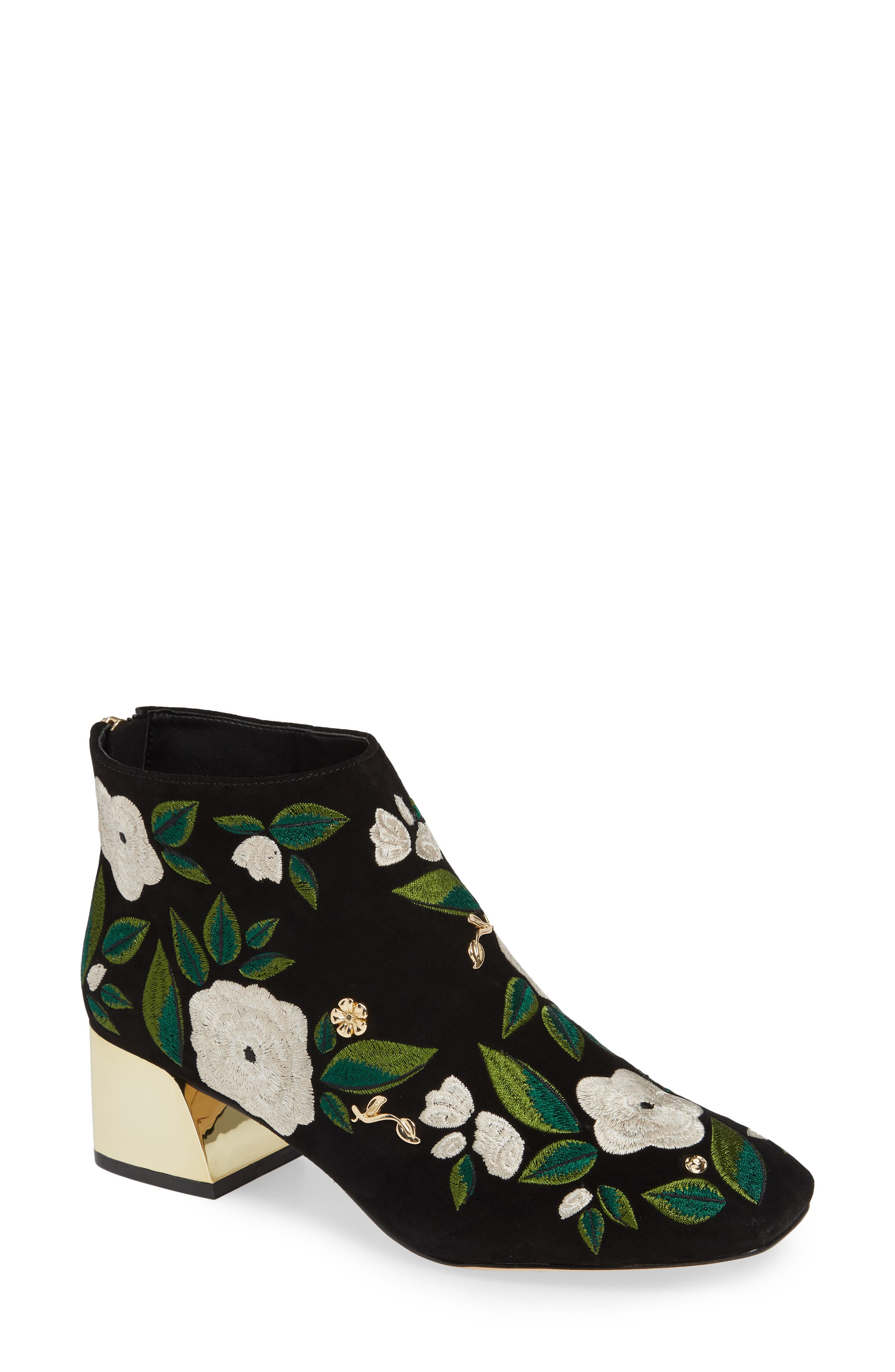 KARL LAGERFELD PARIS Harlow Bootie, Main, color, 002