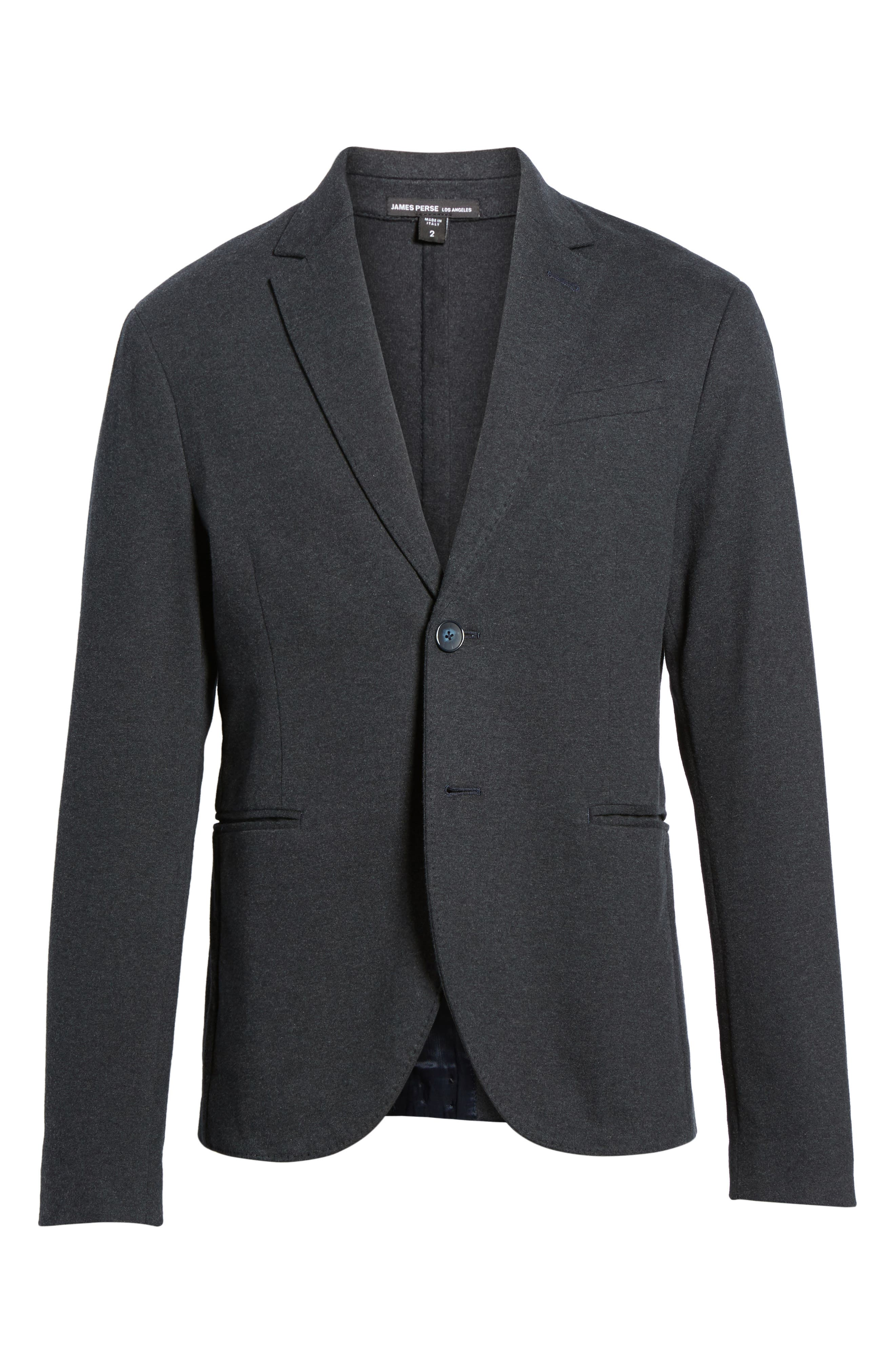 Tailored Jersey Jacket,                             Alternate thumbnail 5, color,