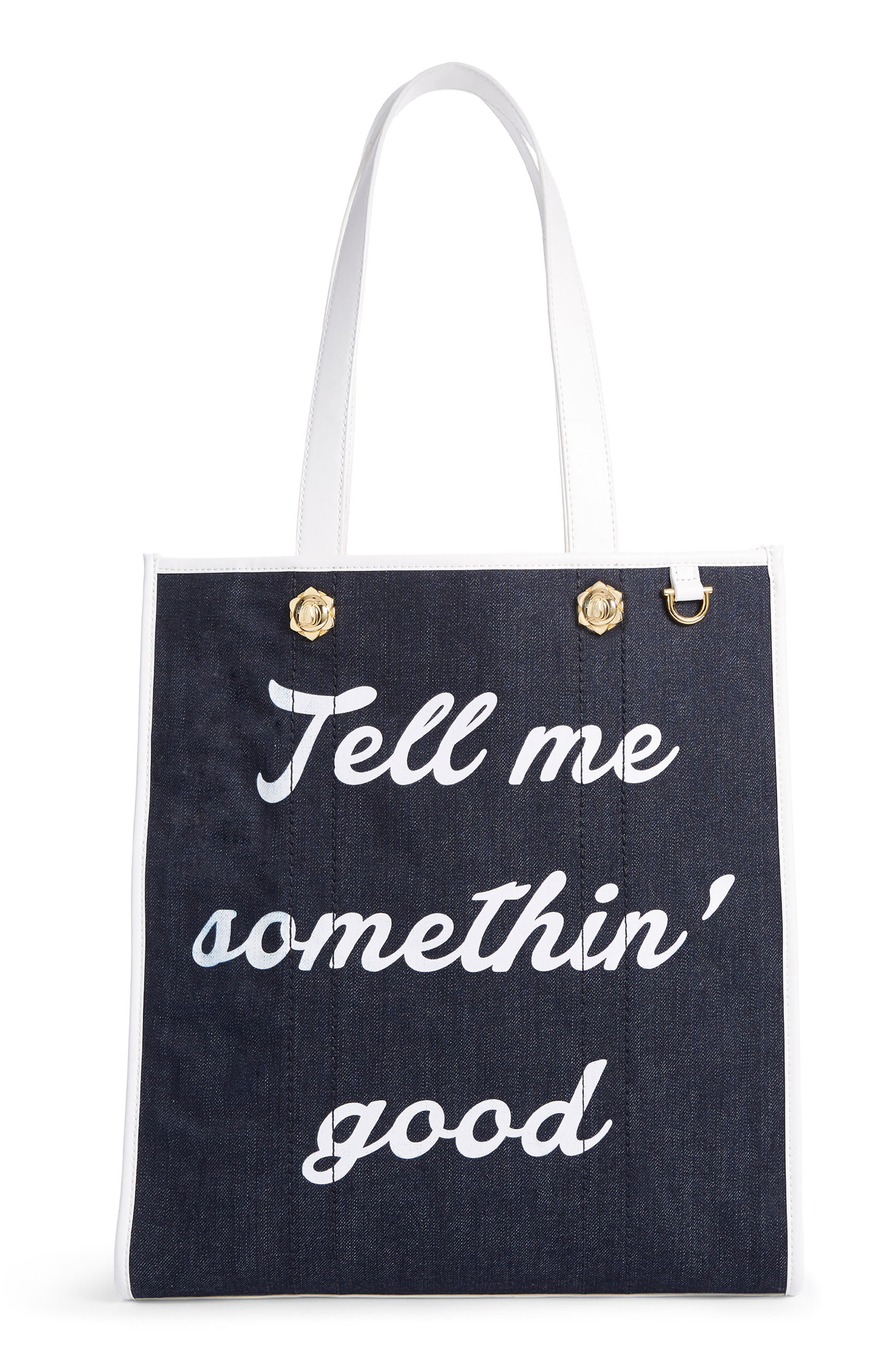 Tell Me Somethin' Good Tote,                         Main,                         color,