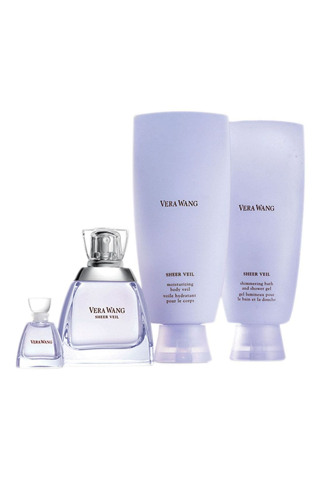 VERA WANG,                             'Sheer Veil' Summer Gift Set,                             Main thumbnail 1, color,                             000