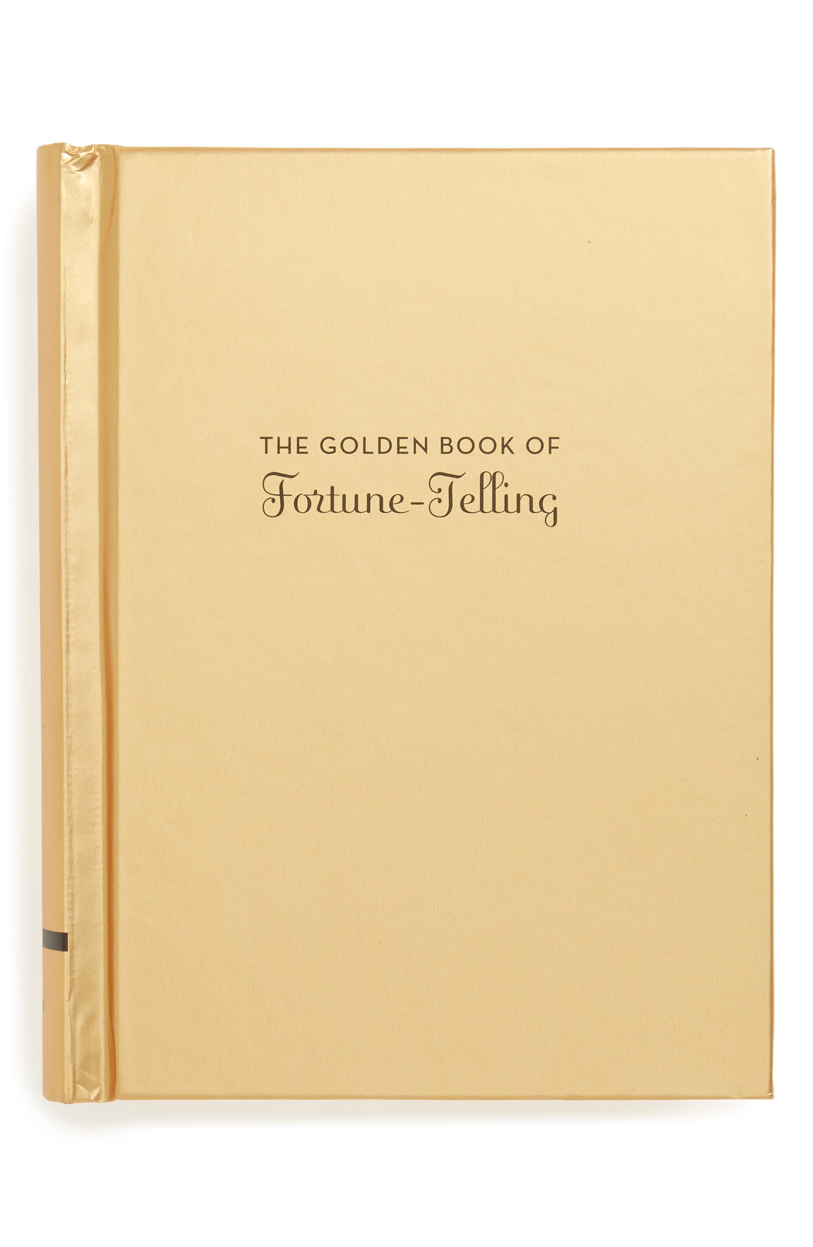 CHRONICLE BOOKS The Golden Book of Fortune-Telling Book, Main, color, 710