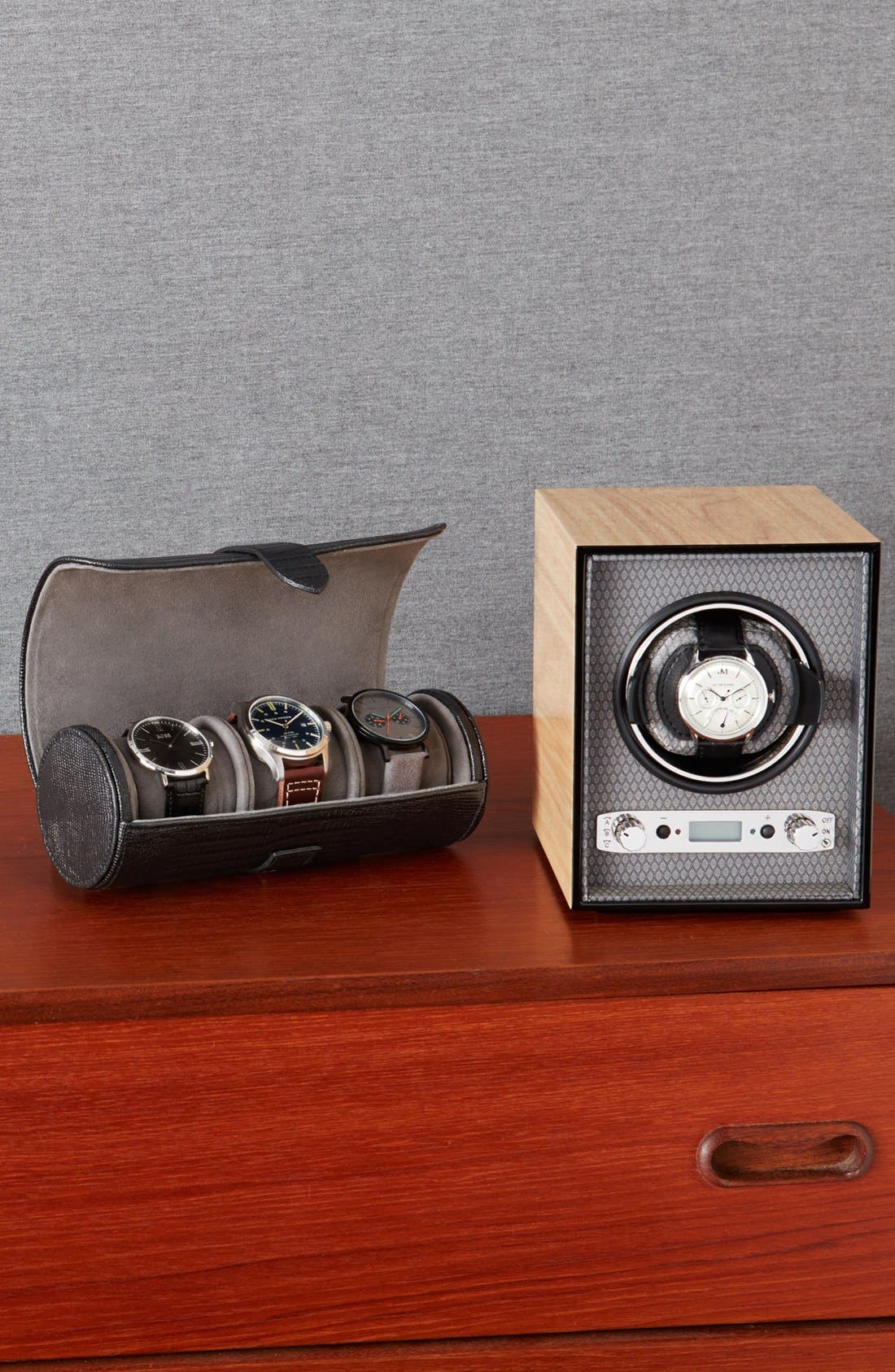 Meridian Watch Winder,                             Alternate thumbnail 5, color,                             BLONDE