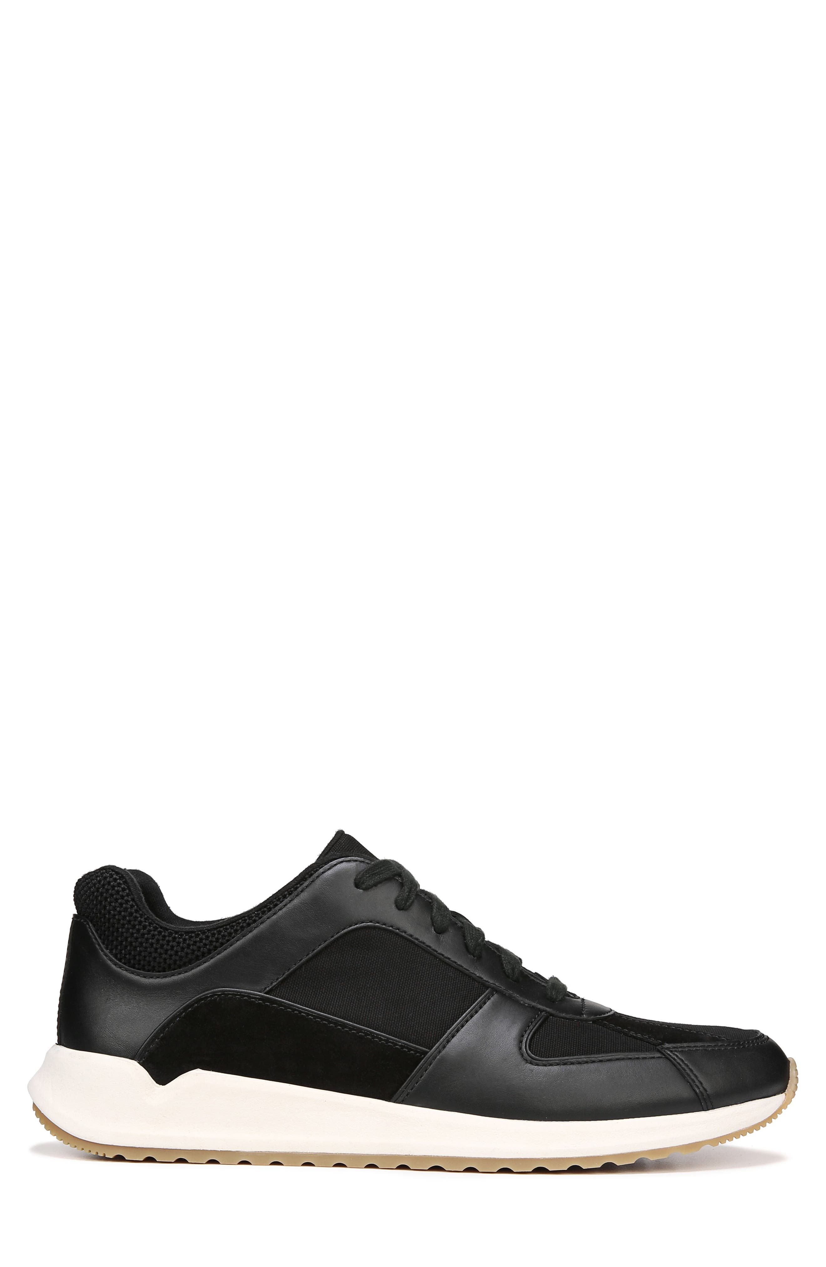 Griffin Sneaker,                             Alternate thumbnail 3, color,                             BLACK/ MADDOX