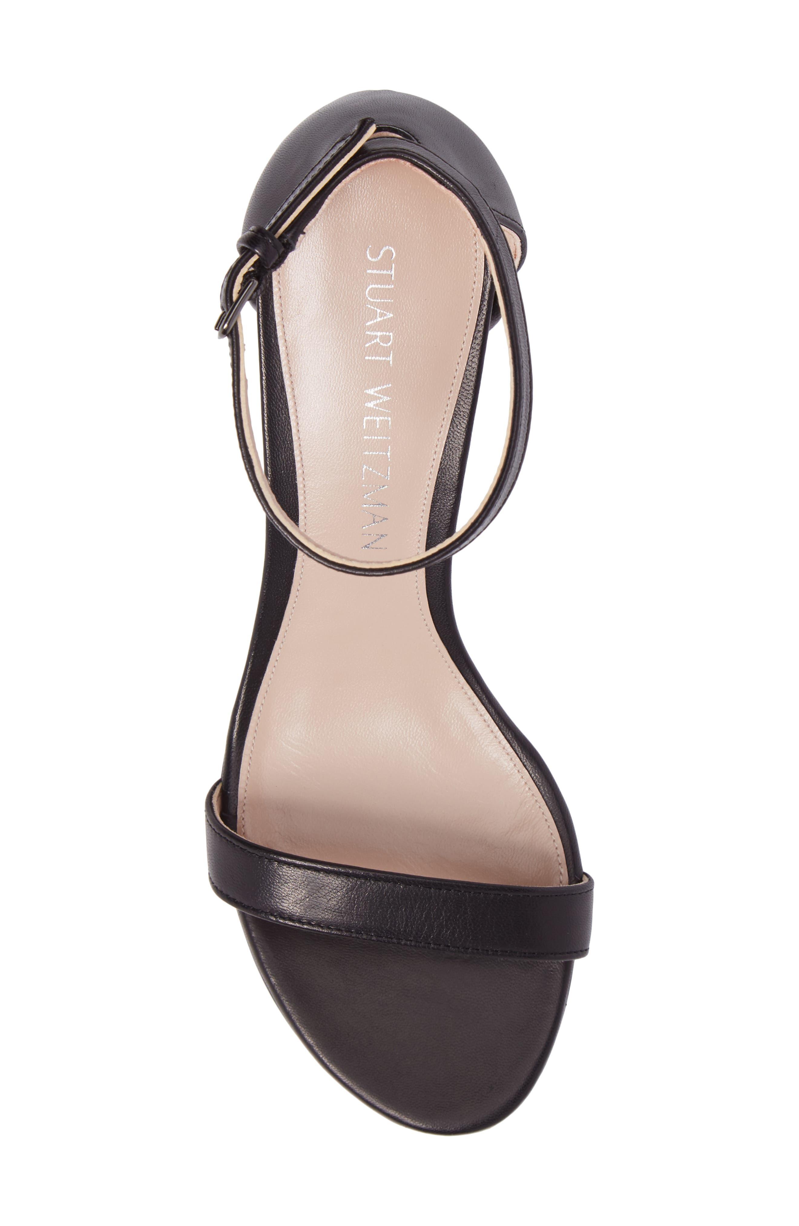 Simple Ankle Strap Sandal,                             Alternate thumbnail 5, color,                             002