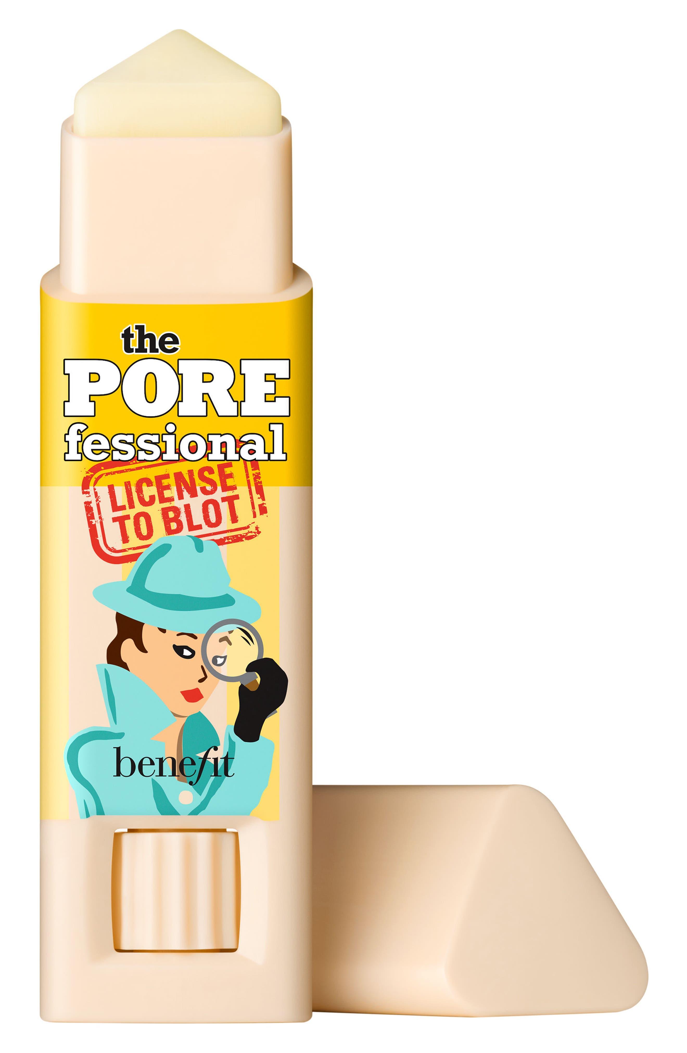 Benefit The POREfessional License to Blot Oil Blotting Stick,                             Main thumbnail 1, color,                             NO COLOR