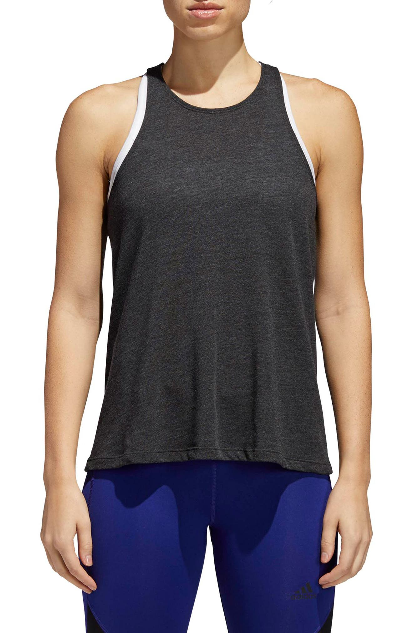 Performer Open Back Tank,                         Main,                         color,